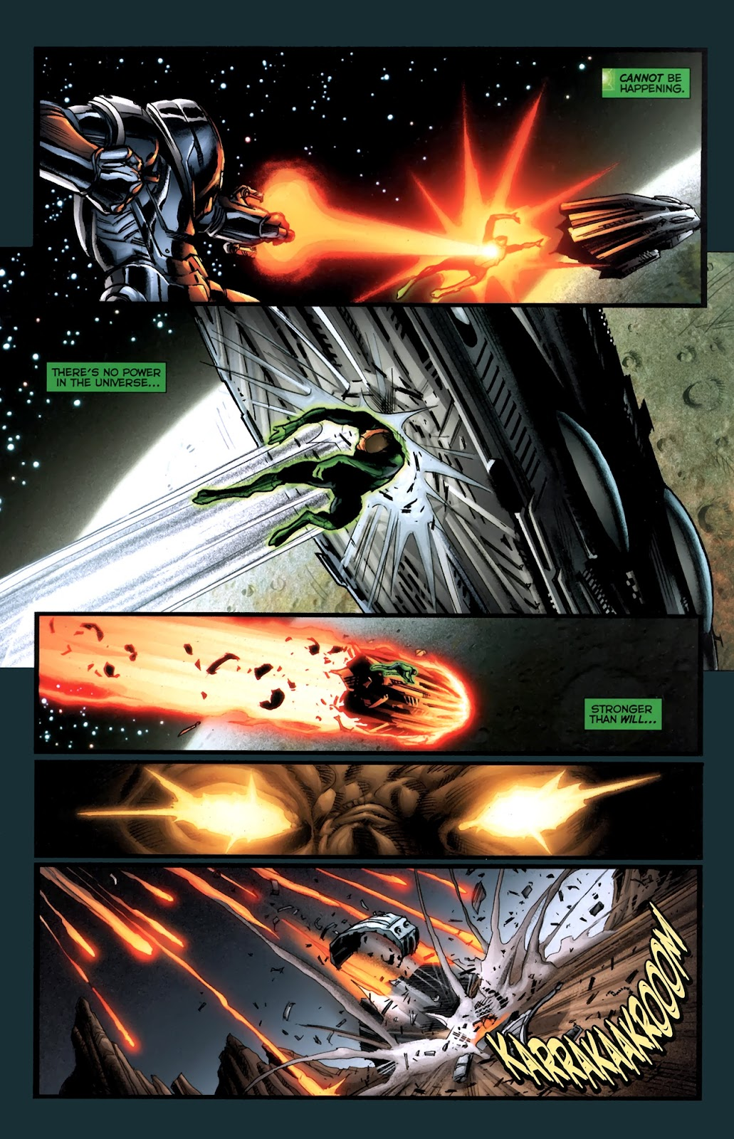 Read online Green Lantern Movie Prequel: Tomar-Re comic -  Issue # Full - 12