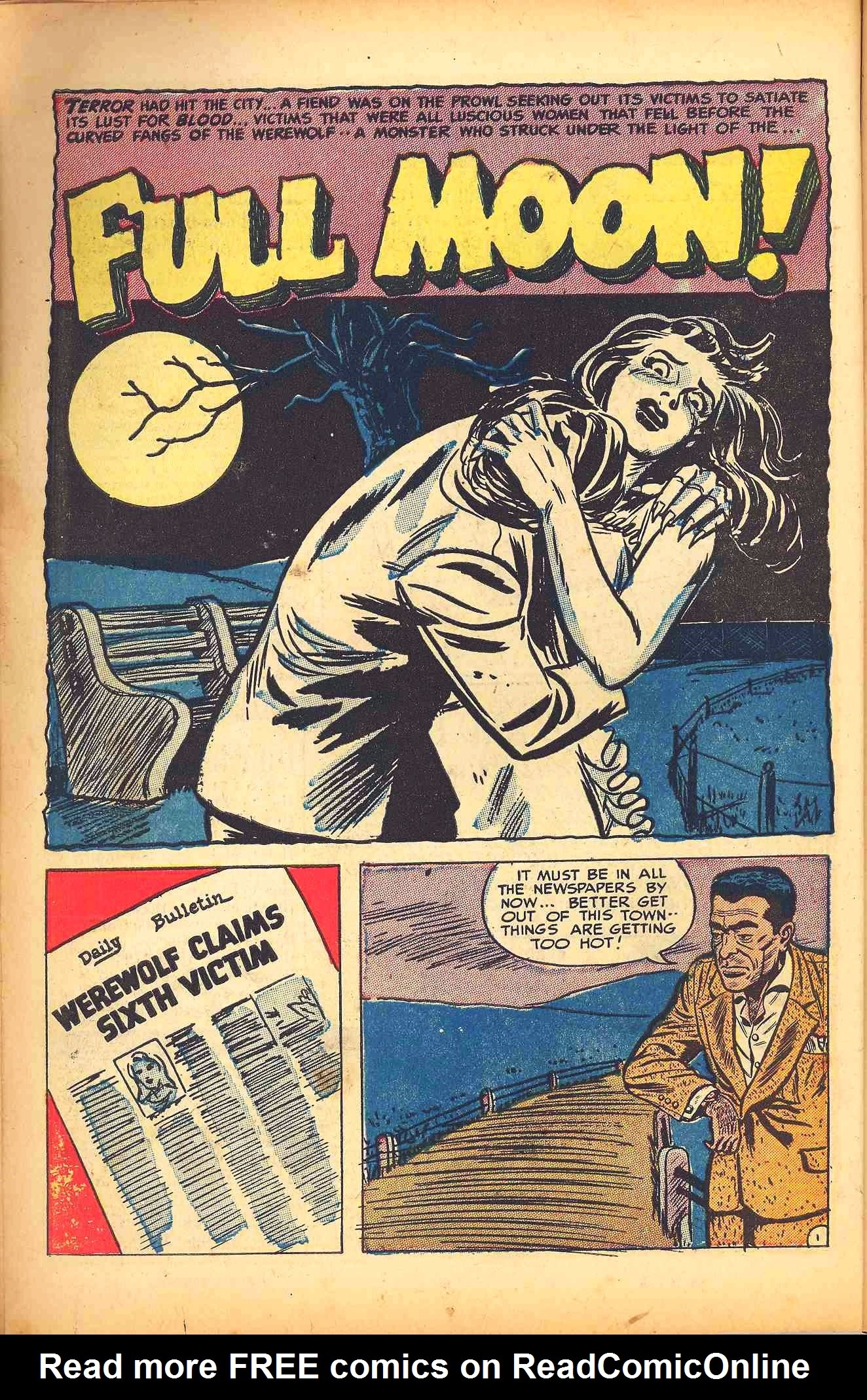 Weird Mysteries (1952) issue 6 - Page 10