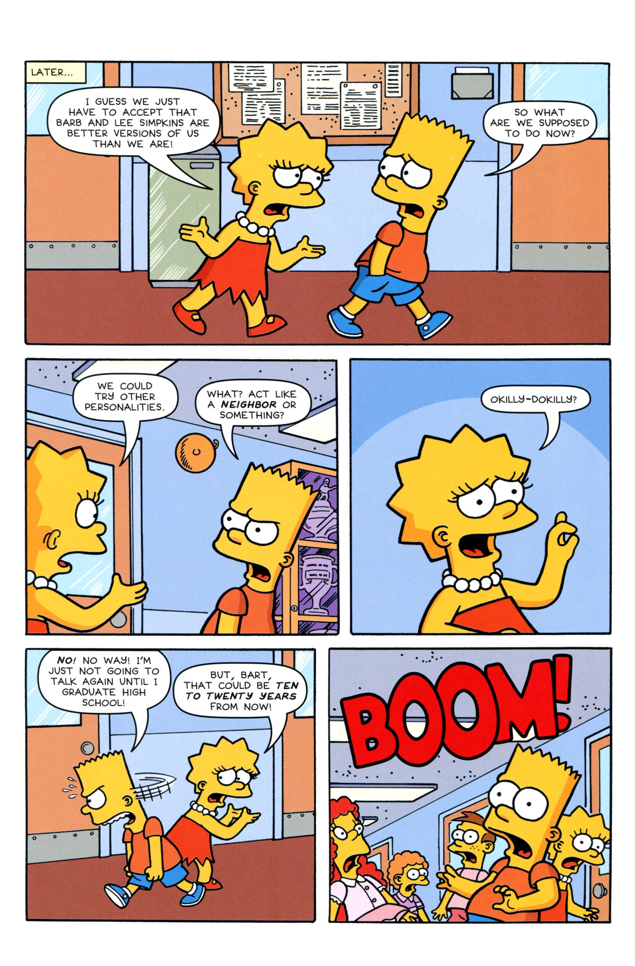 Read online Simpsons Comics Presents Bart Simpson comic -  Issue #90 - 23