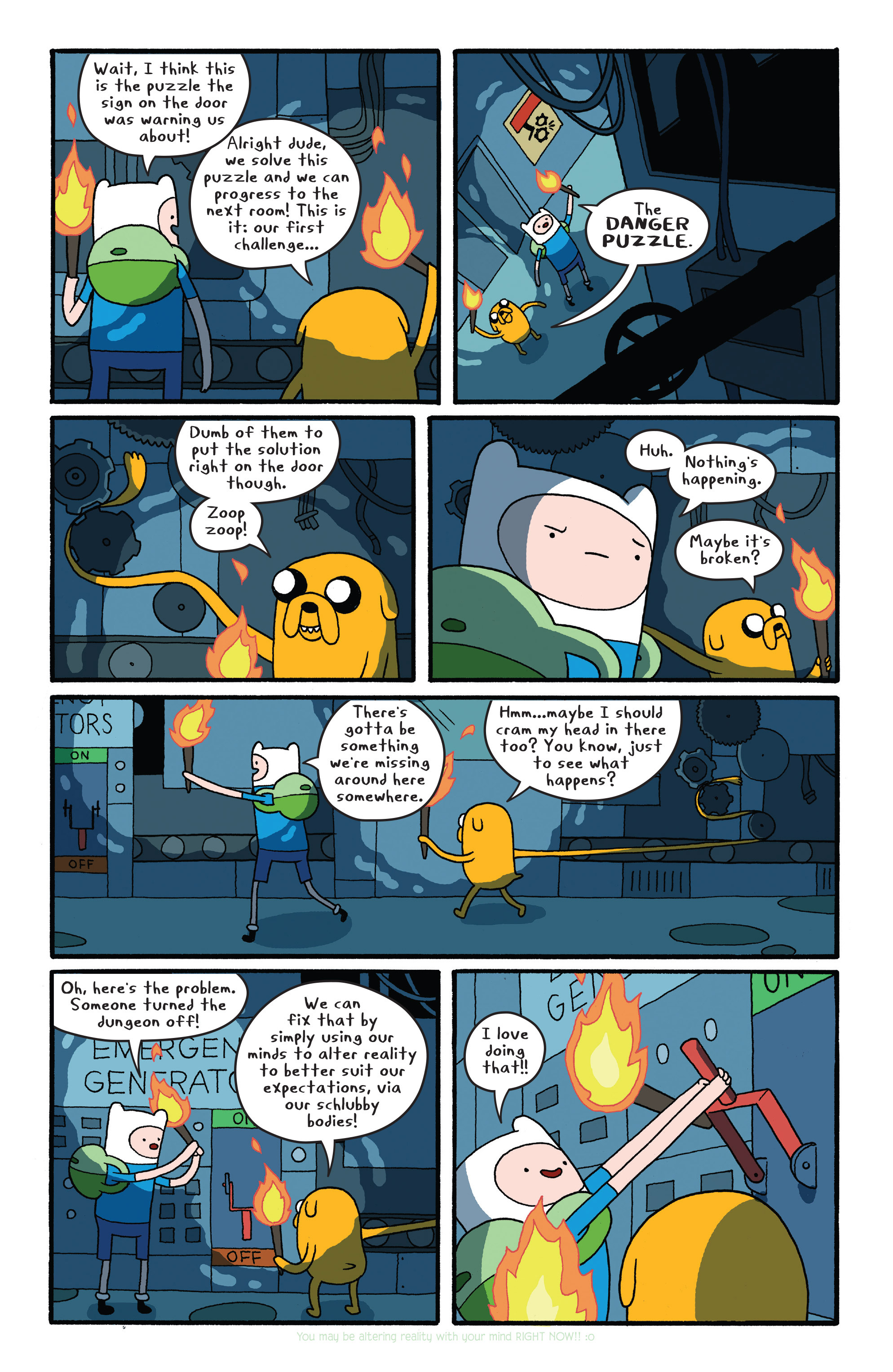 Read online Adventure Time comic -  Issue #26 - 10