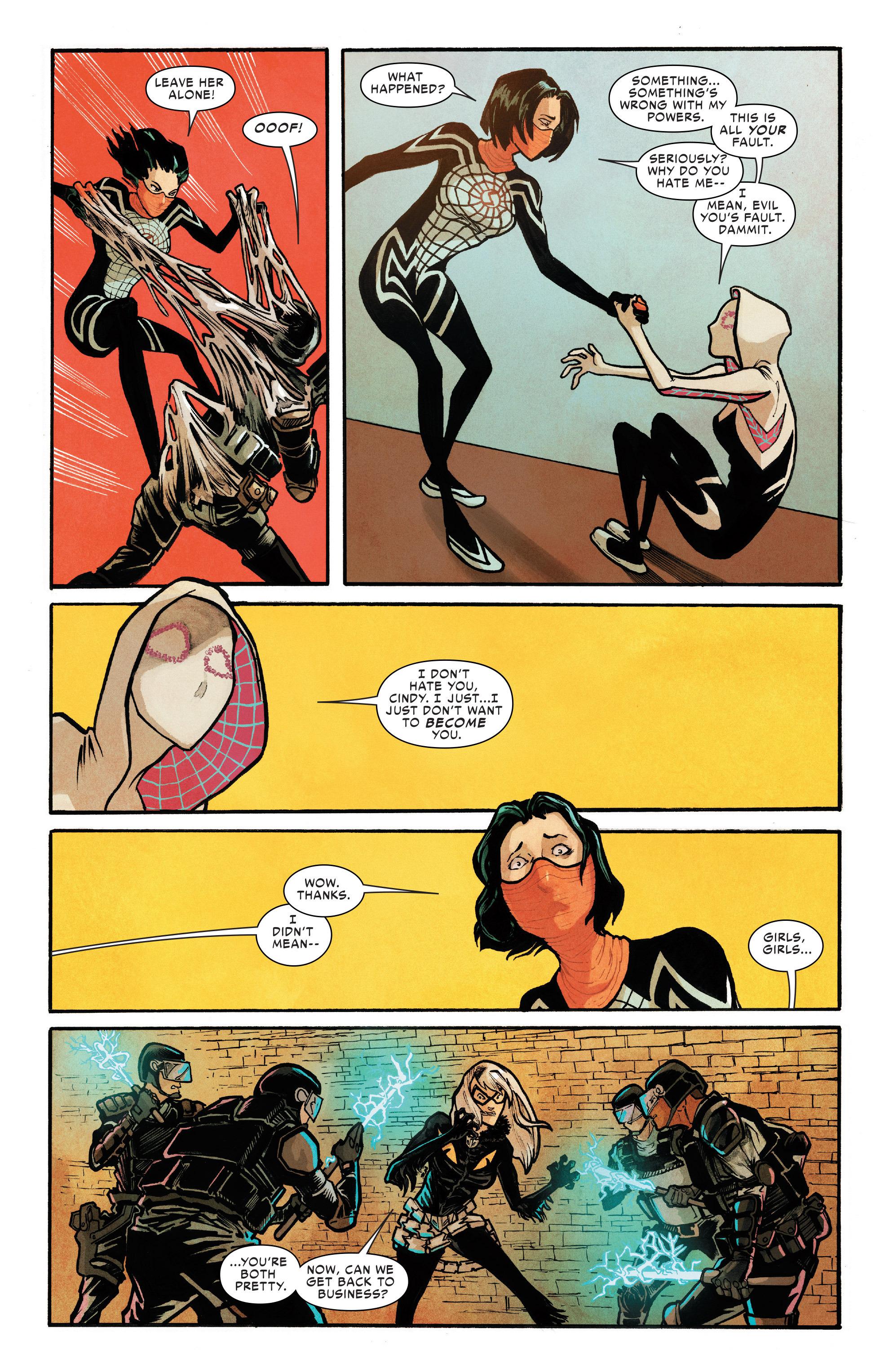 Read online Silk (2016) comic -  Issue #8 - 16