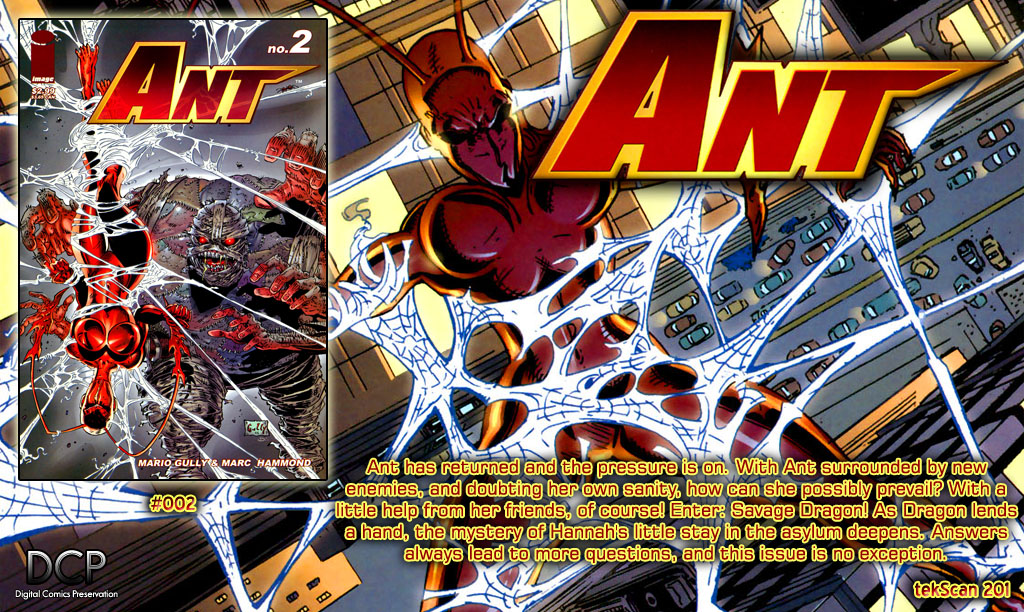 Read online Ant comic -  Issue #2 - 25