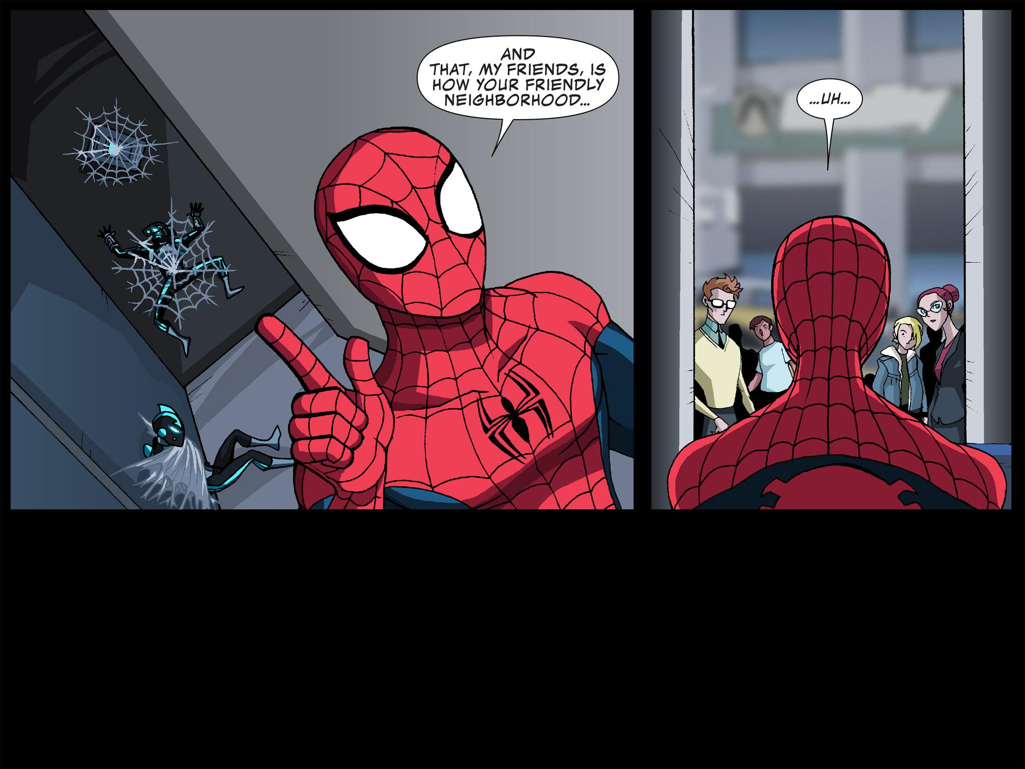Read online Ultimate Spider-Man (Infinite Comics) (2015) comic -  Issue #12 - 33