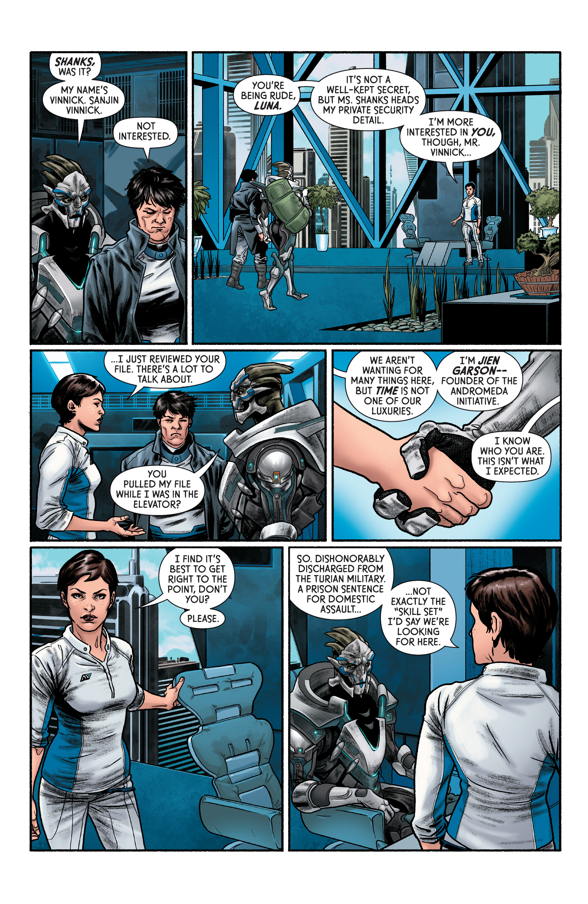 Read online Mass Effect: Discovery comic -  Issue #1 - 17