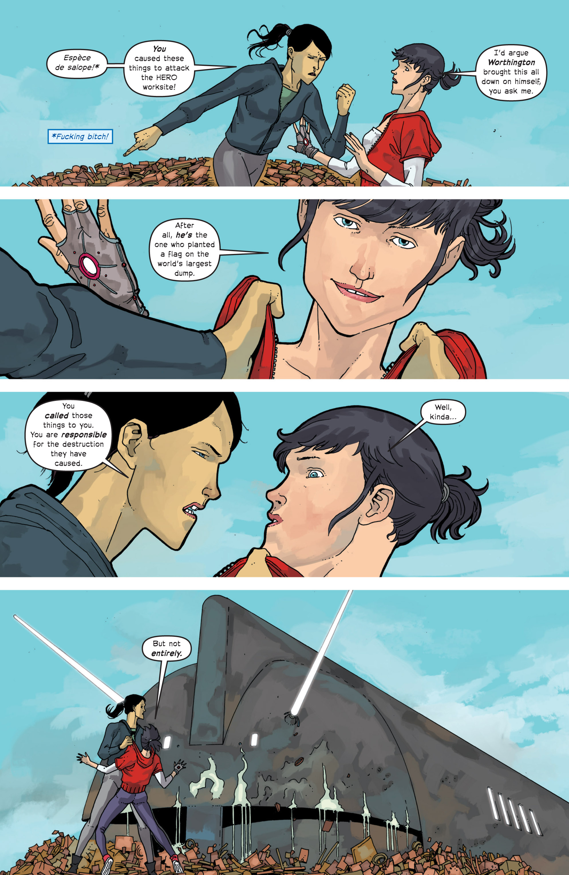Read online Great Pacific comic -  Issue #11 - 17