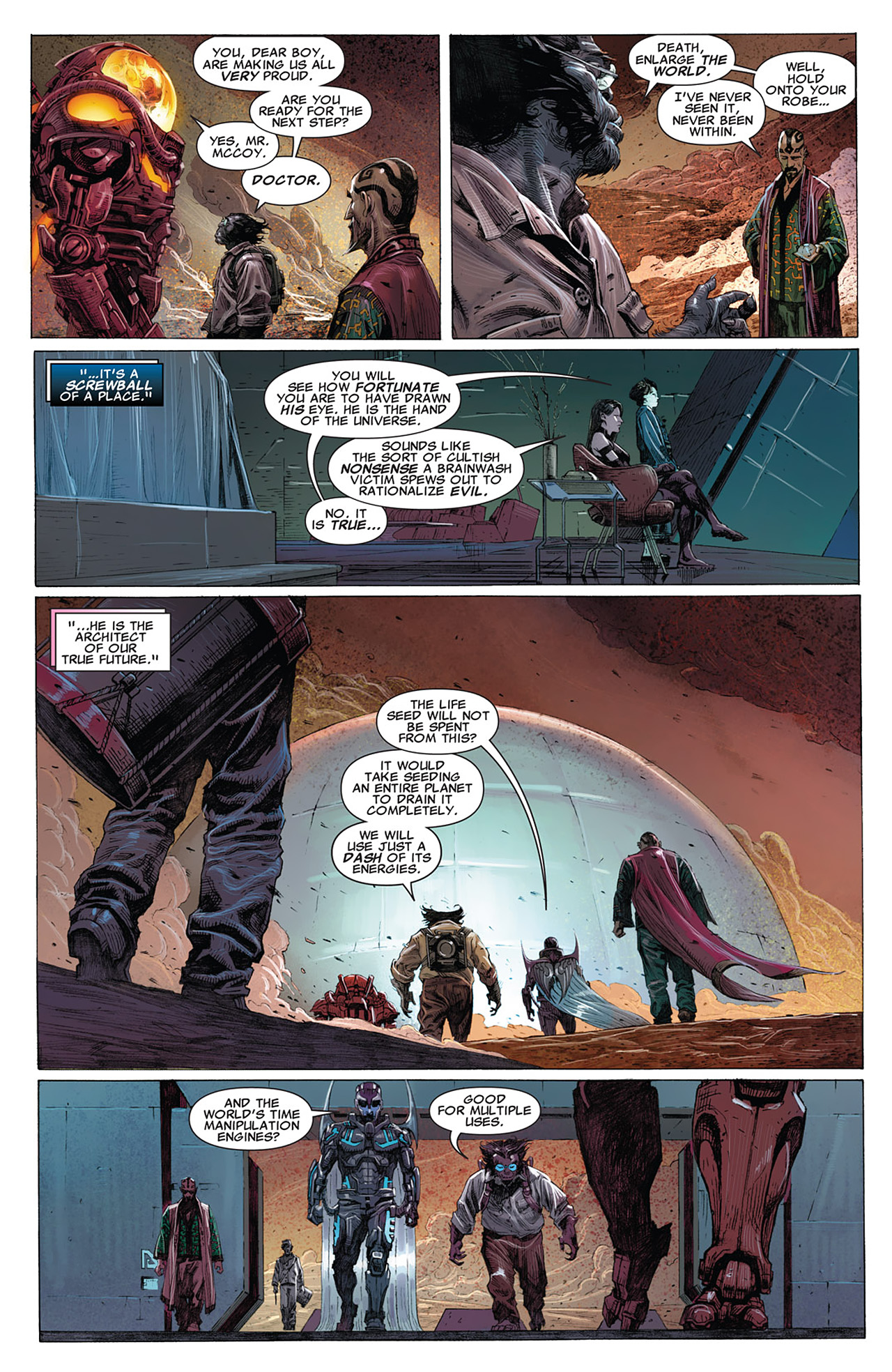 Read online Uncanny X-Force (2010) comic -  Issue #15 - 4