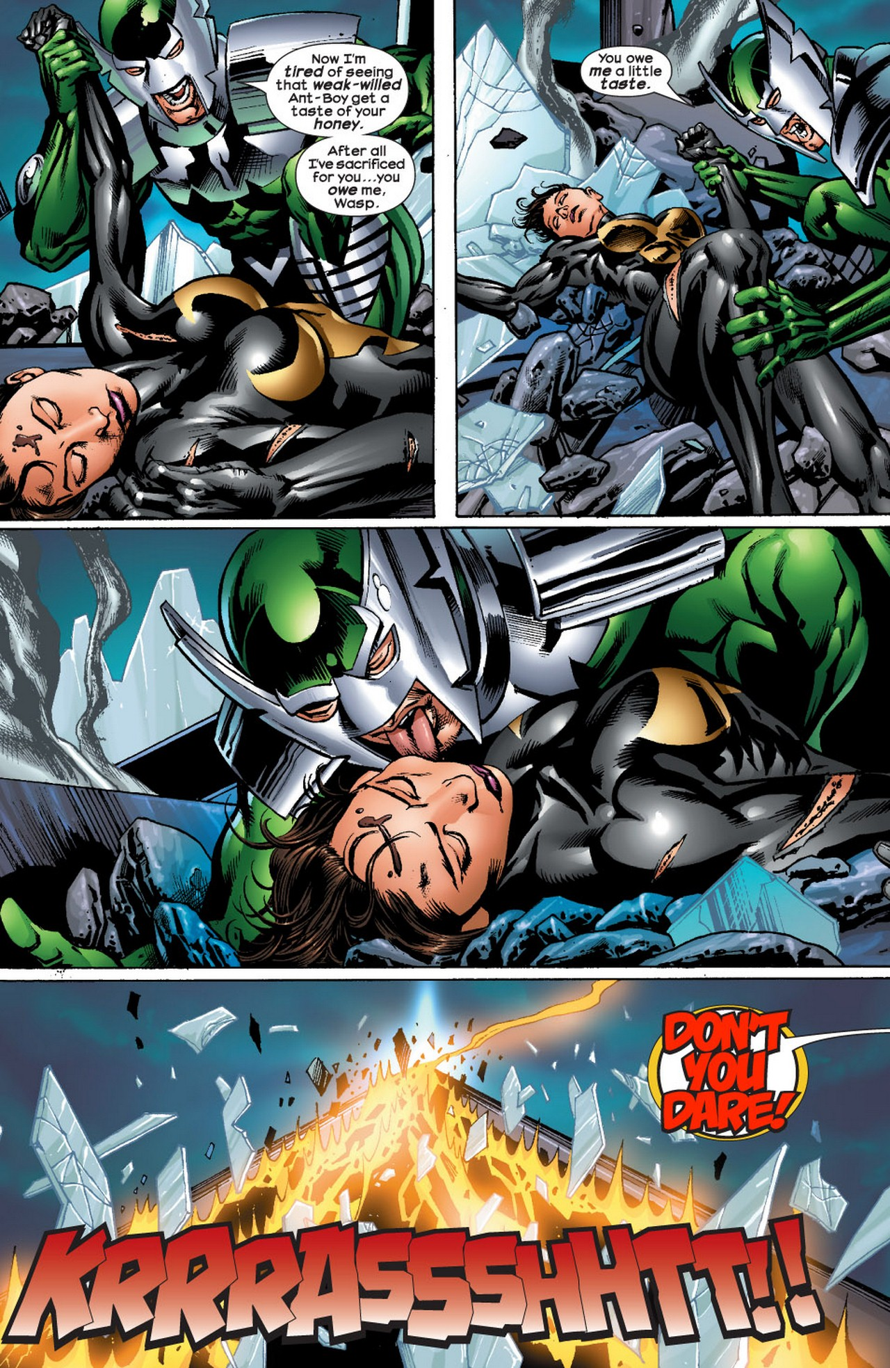 Read online Avengers (1998) comic -  Issue #71 - 17