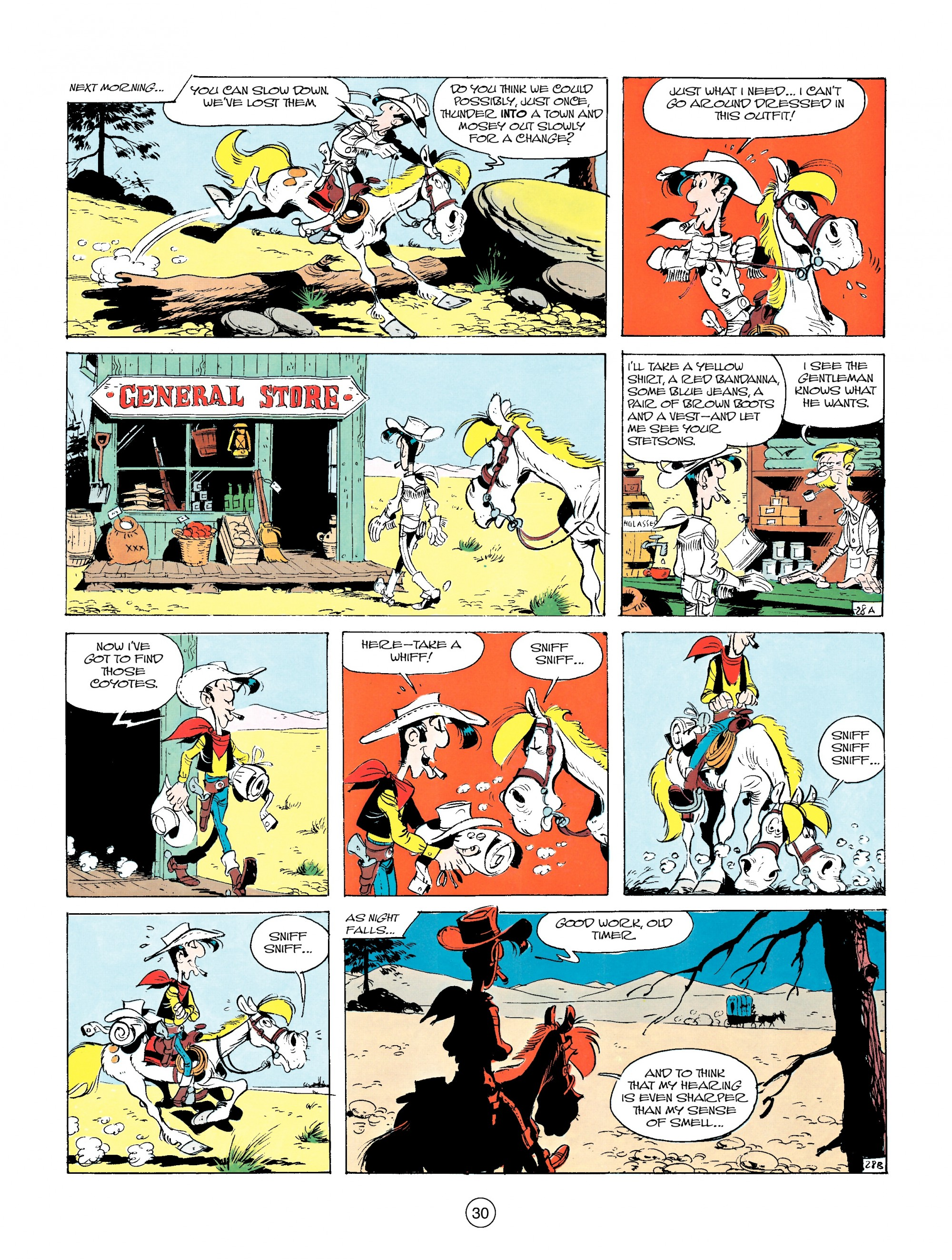 Read online A Lucky Luke Adventure comic -  Issue #14 - 30