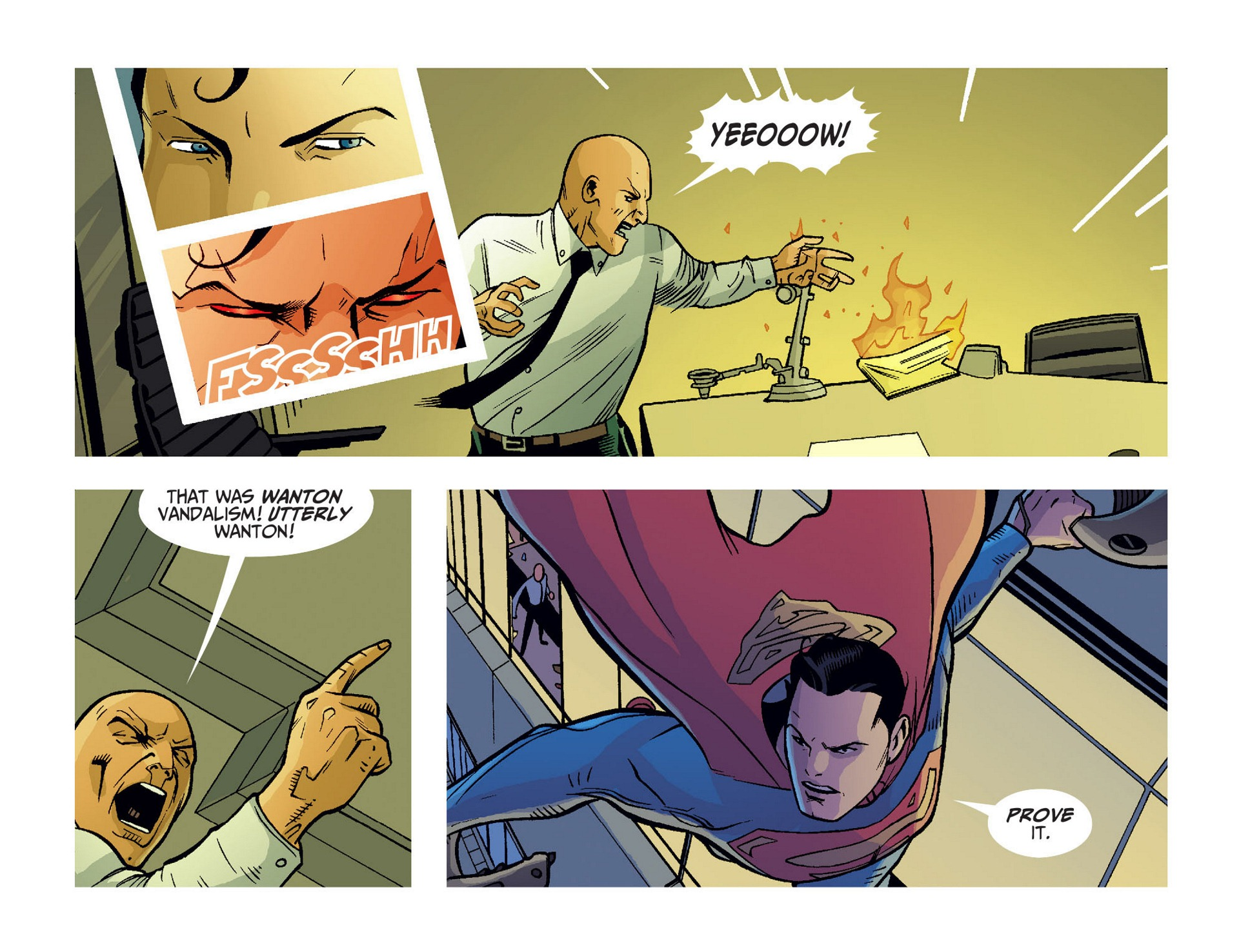 Read online Adventures of Superman [I] comic -  Issue #10 - 19