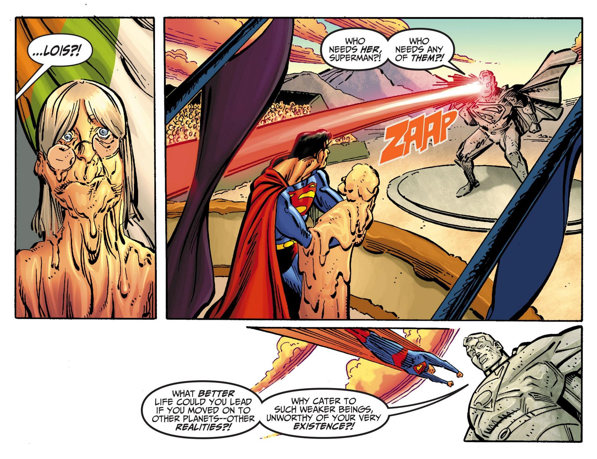 Read online Adventures of Superman [I] comic -  Issue #47 - 11