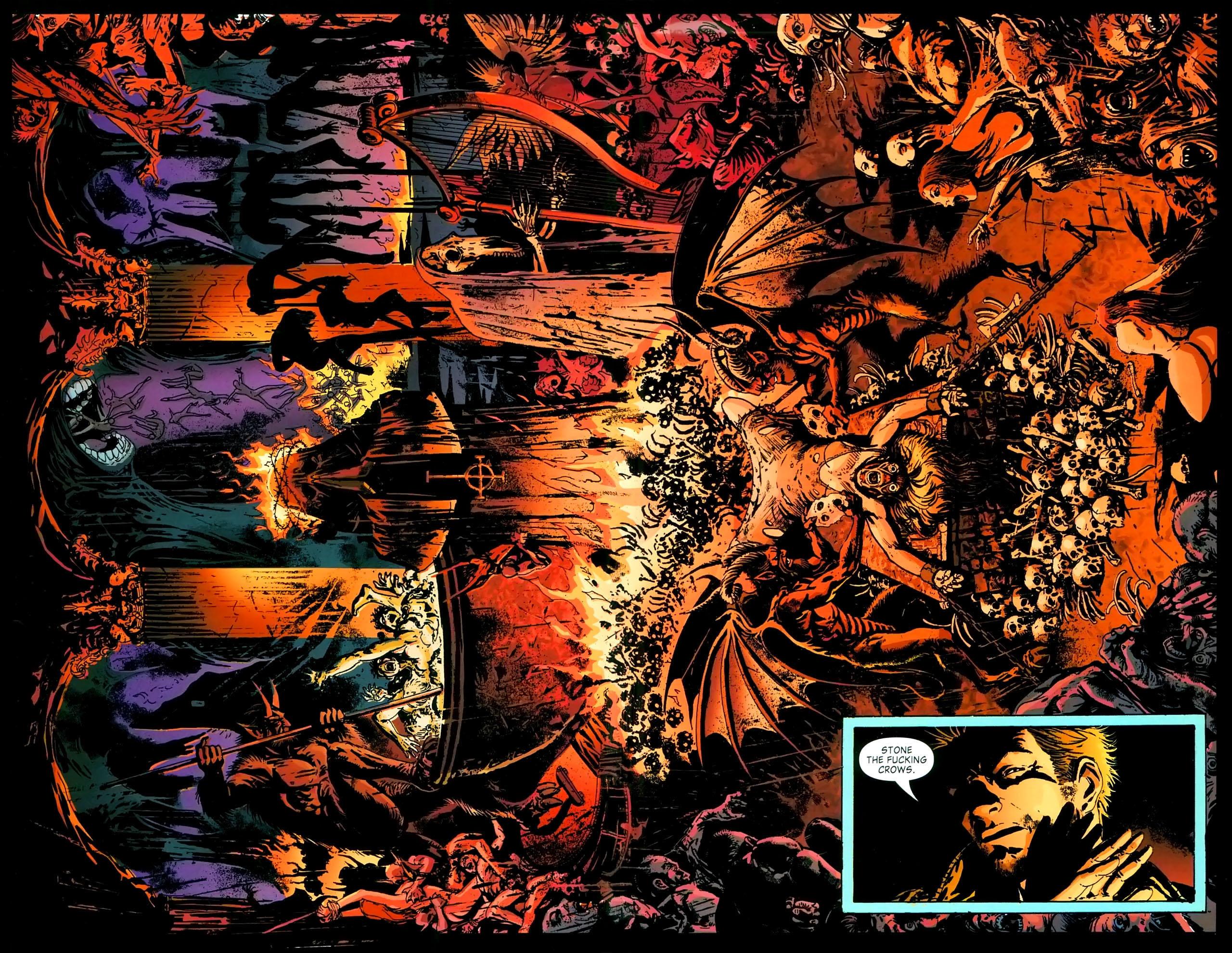 Read online John Constantine Hellblazer: All His Engines comic -  Issue # Full - 42
