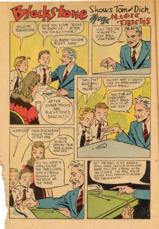Read online Super-Magician Comics comic -  Issue #43 - 18