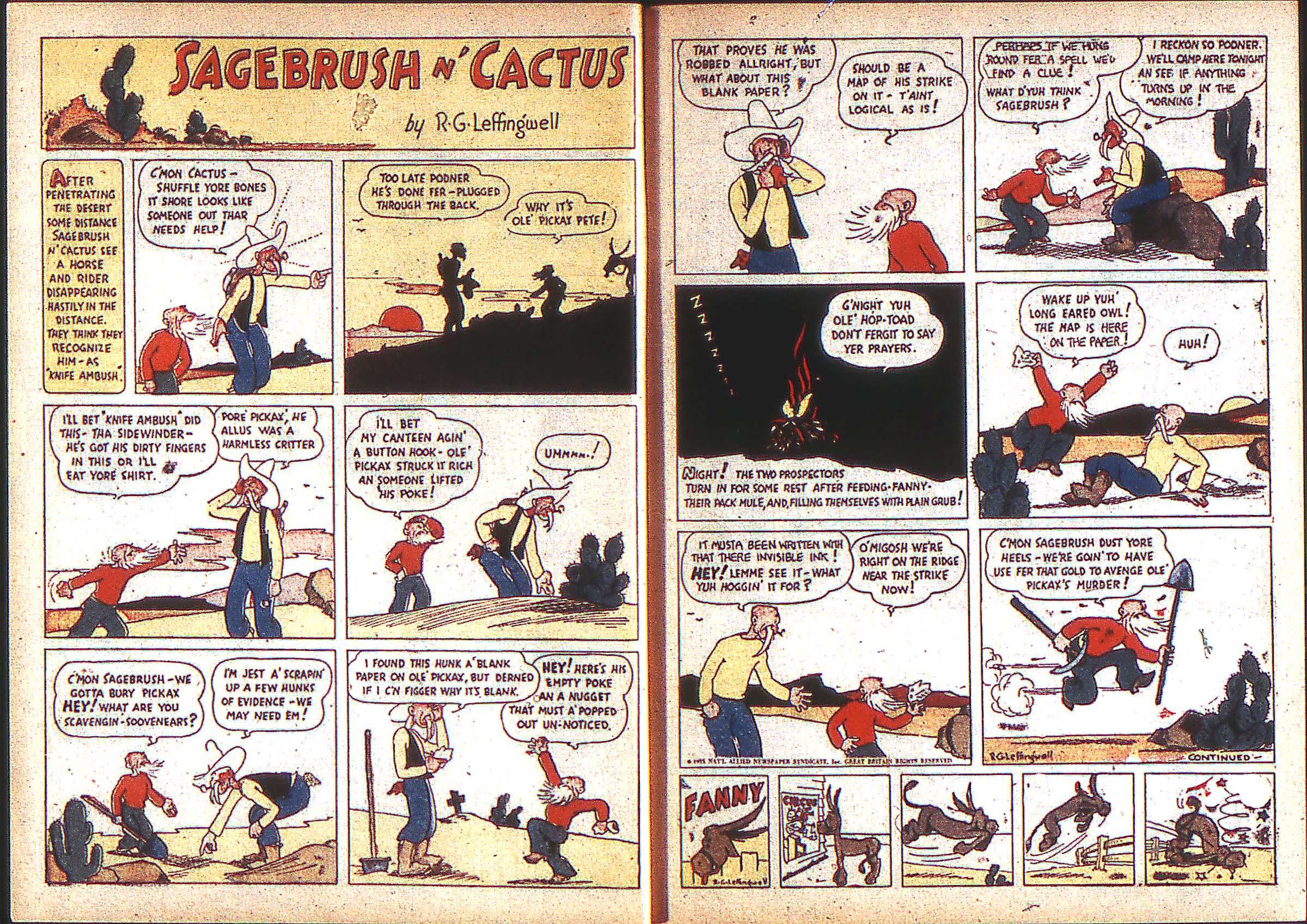 Read online Adventure Comics (1938) comic -  Issue #2 - 5