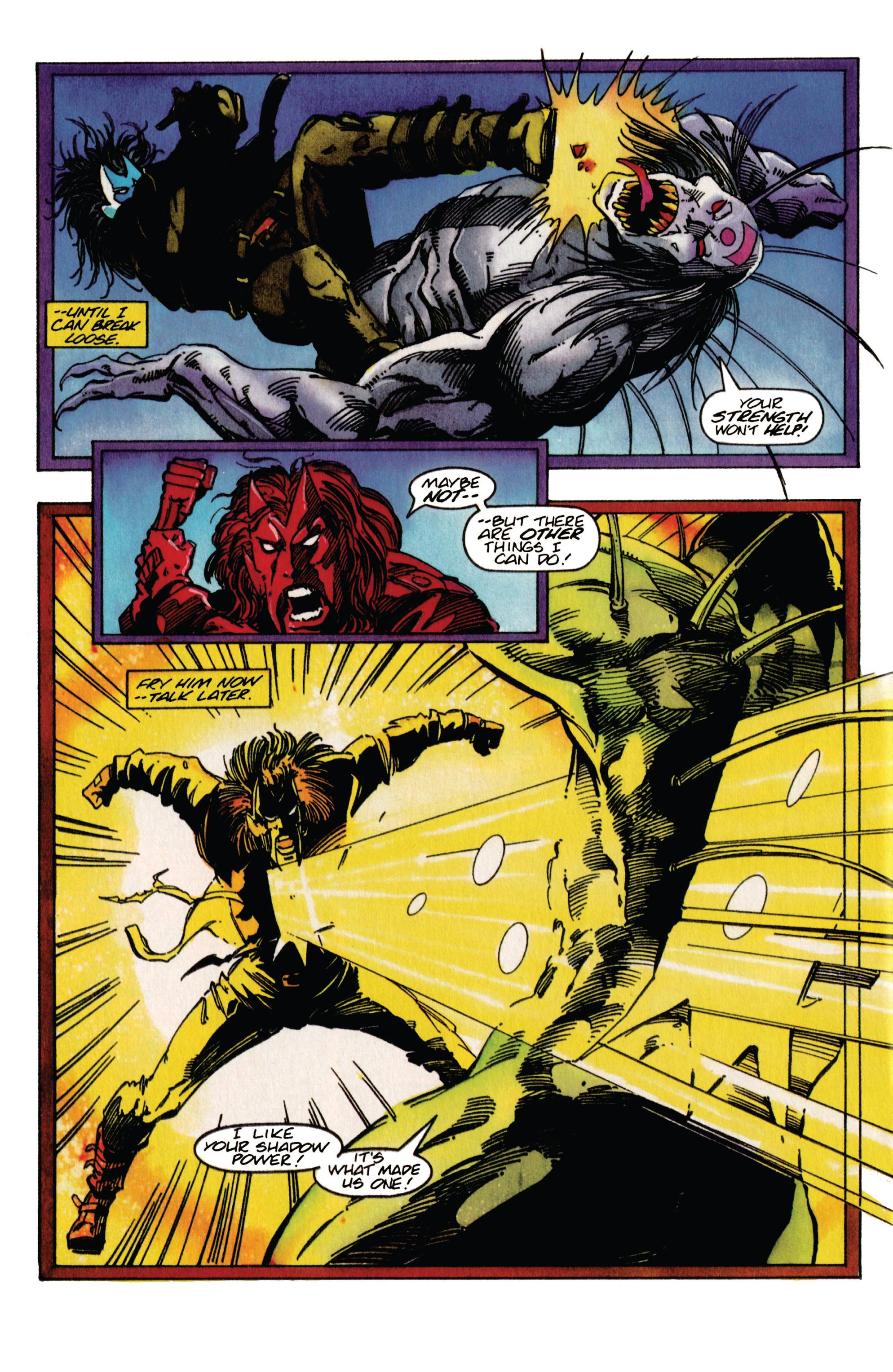 Read online Shadowman (1992) comic -  Issue #31 - 15