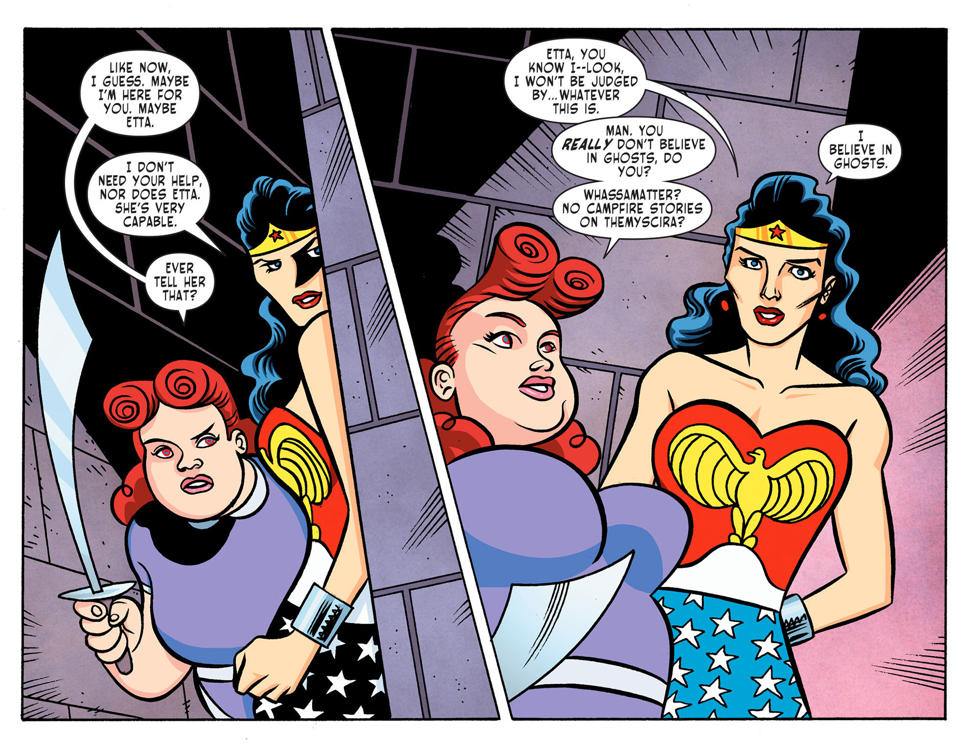 Read online Sensation Comics Featuring Wonder Woman comic -  Issue #8 - 12