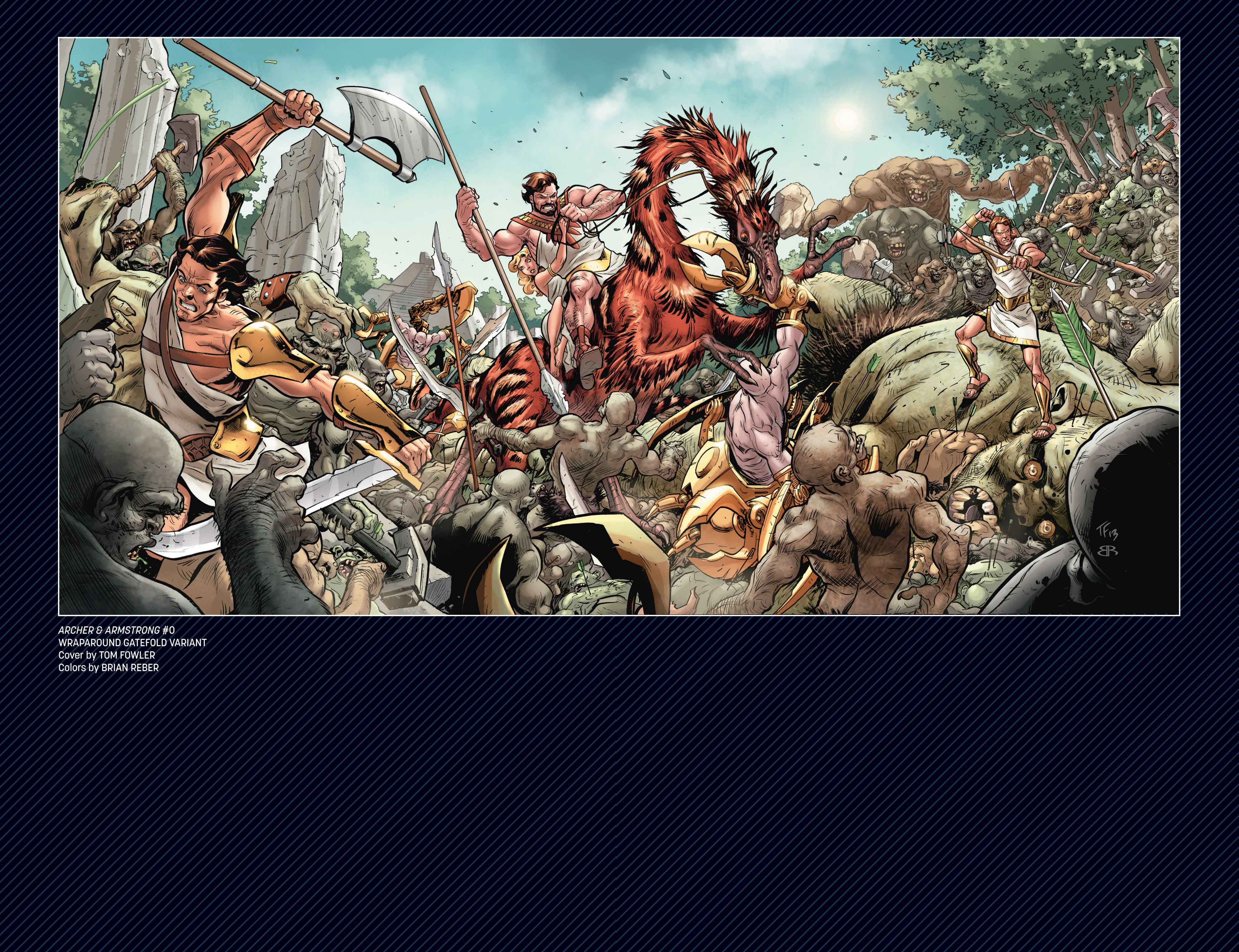 Read online Archer and Armstrong comic -  Issue #Archer and Armstrong _TPB 3 - 121