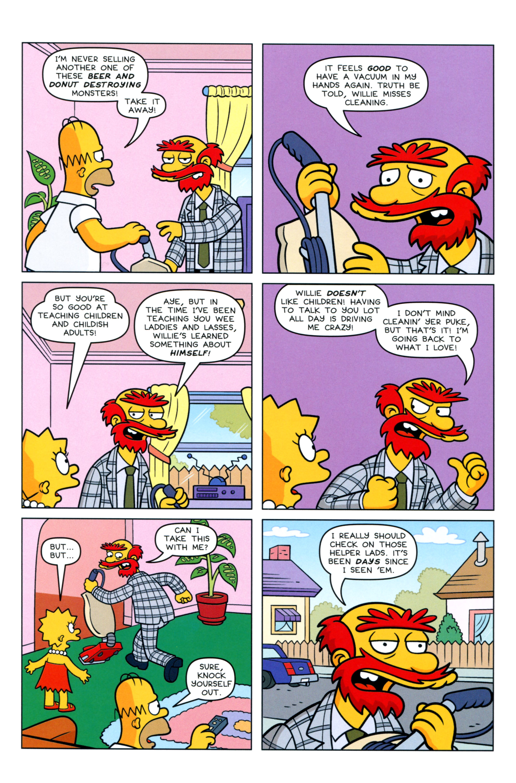 Read online Simpsons Comics comic -  Issue #217 - 25