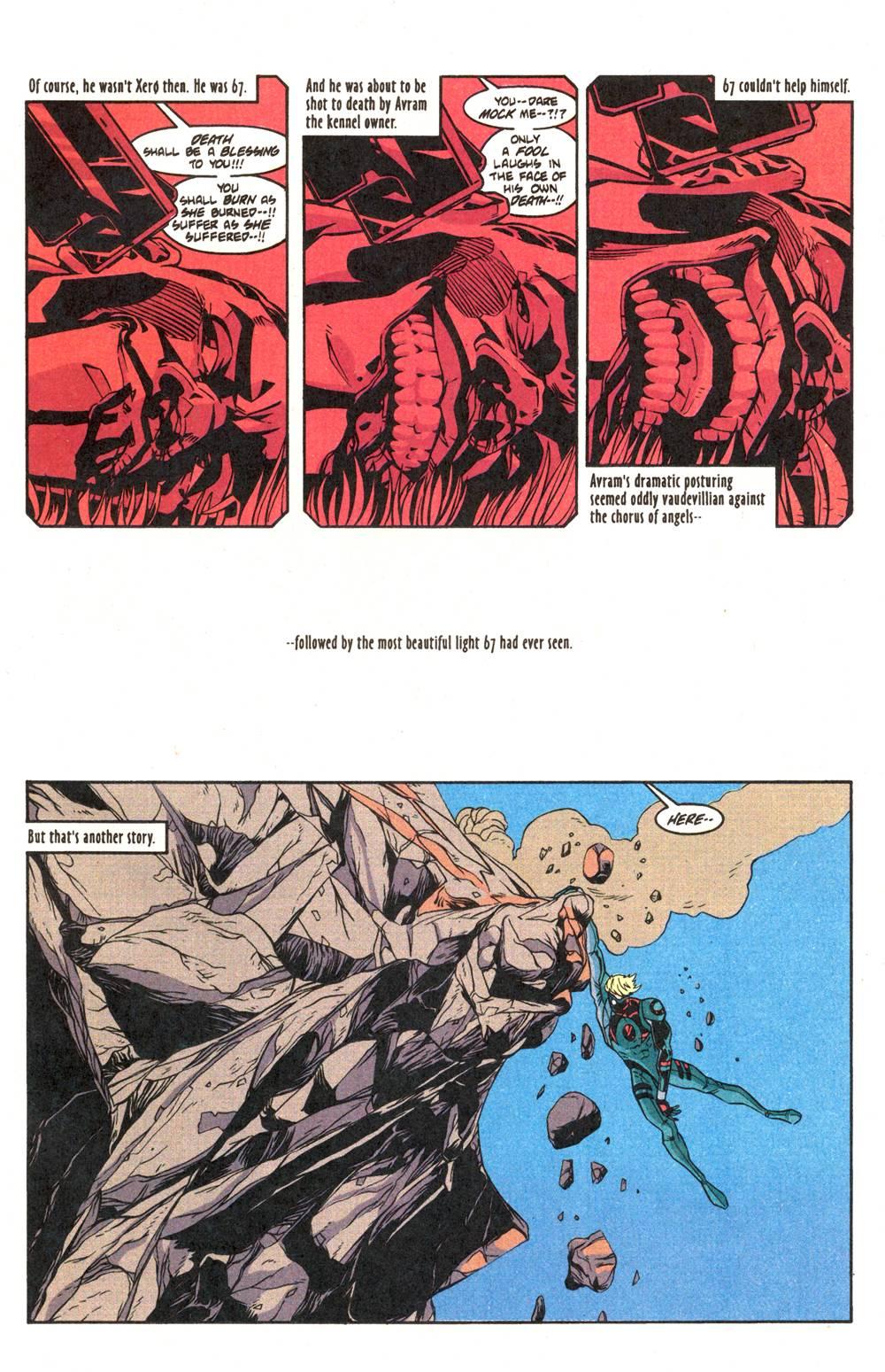 Read online Xero comic -  Issue #6 - 19