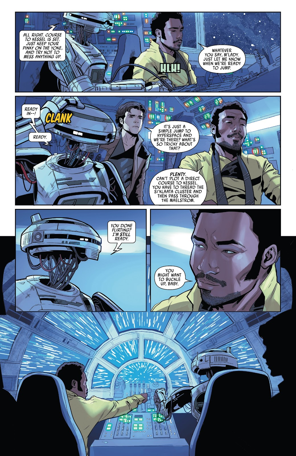 Read online Solo: A Star Wars Story Adaptation comic -  Issue #4 - 4