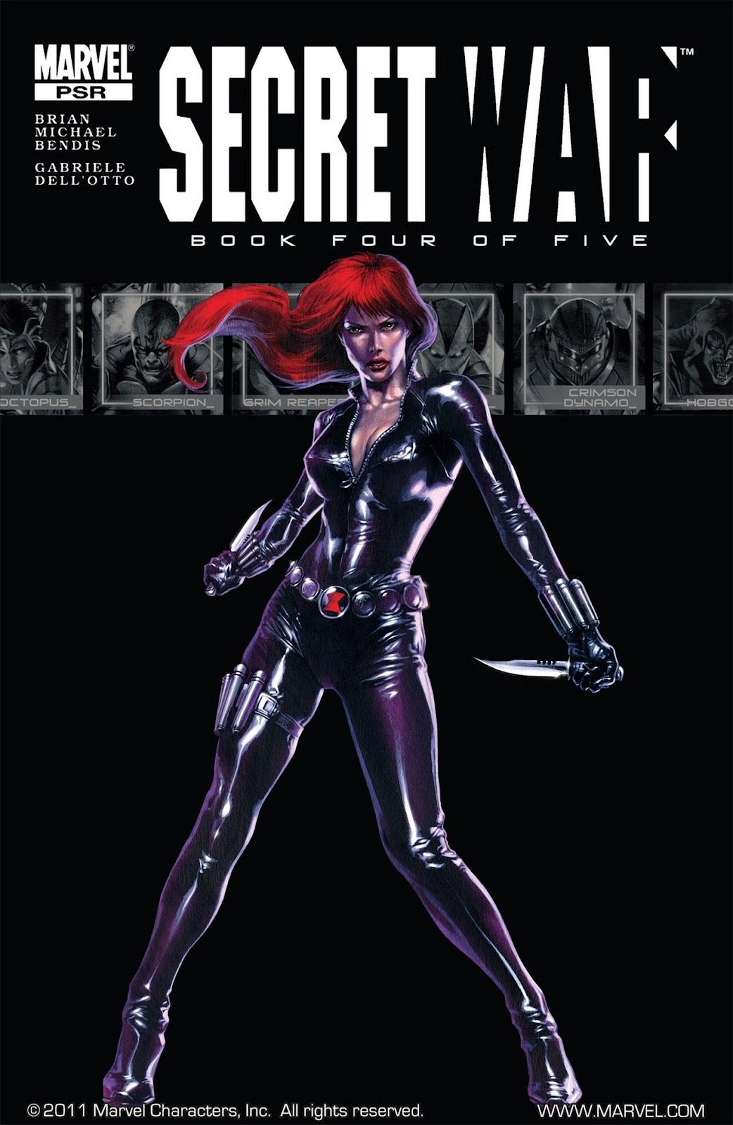 Read online Secret War comic -  Issue #4 - 1