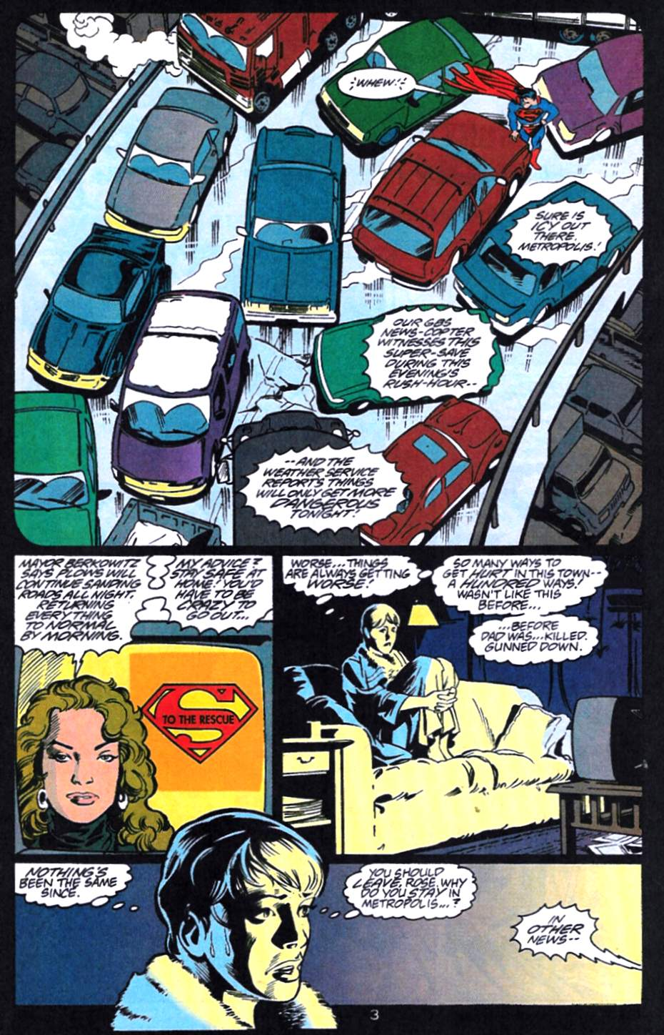 Read online Adventures of Superman (1987) comic -  Issue #521 - 4
