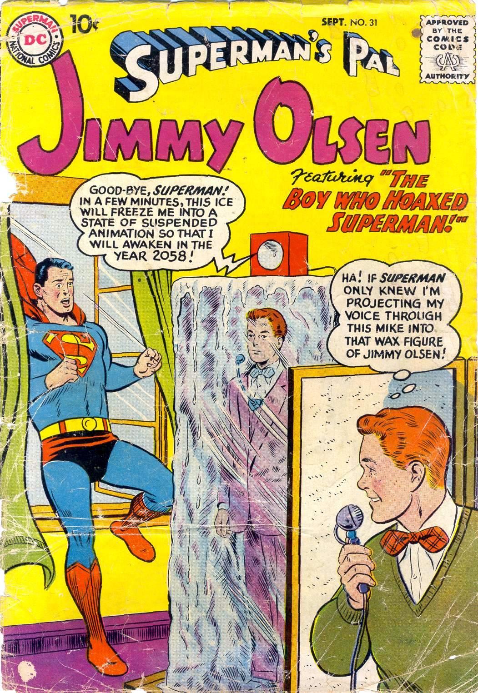Supermans Pal Jimmy Olsen (1954) 31 Page 1