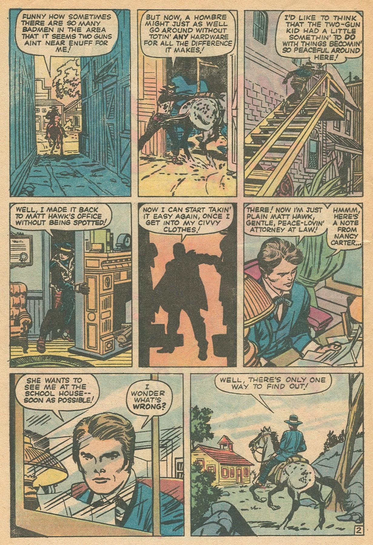 Read online Two-Gun Kid comic -  Issue #130 - 4