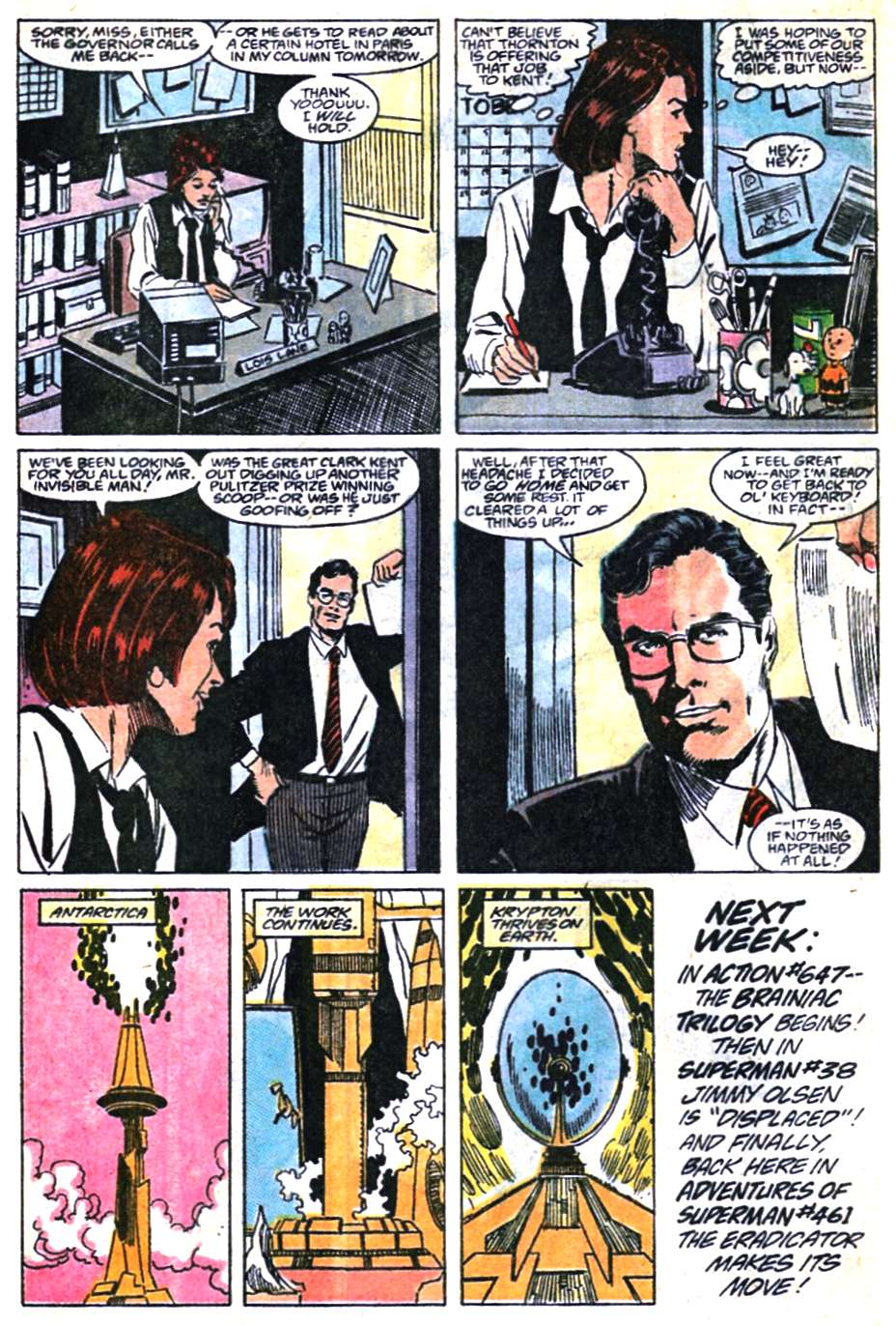 Read online Adventures of Superman (1987) comic -  Issue #460 - 23