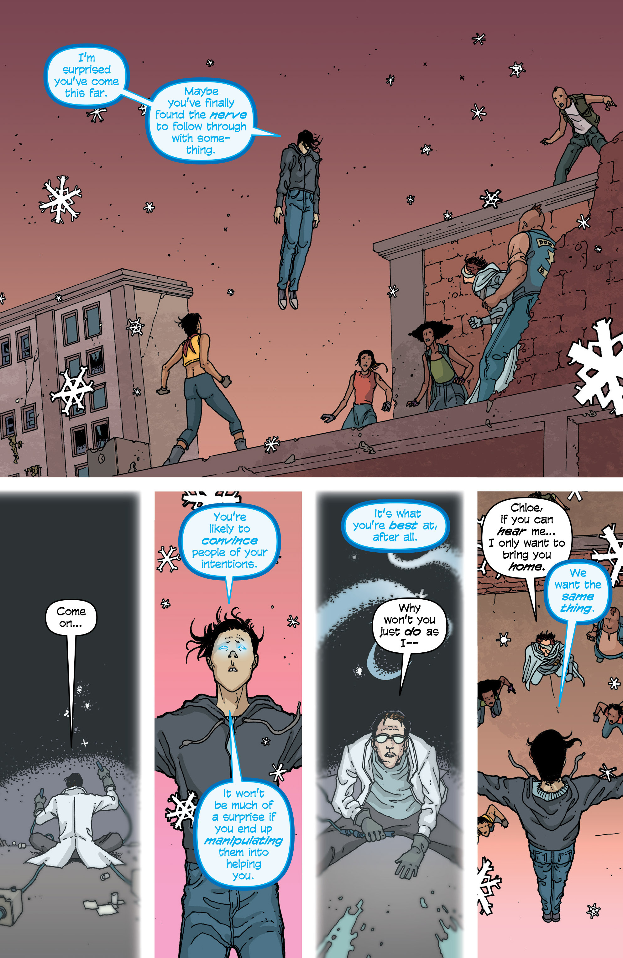 Read online Snowfall comic -  Issue #4 - 20