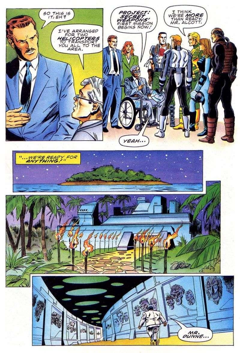Read online Secret Weapons comic -  Issue #11 - 24