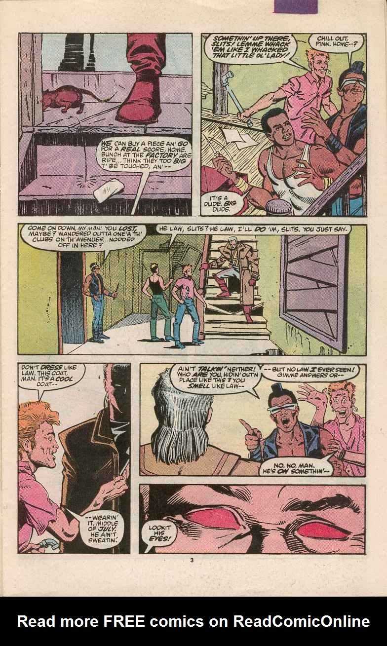 Read online Justice (1986) comic -  Issue #1 - 4