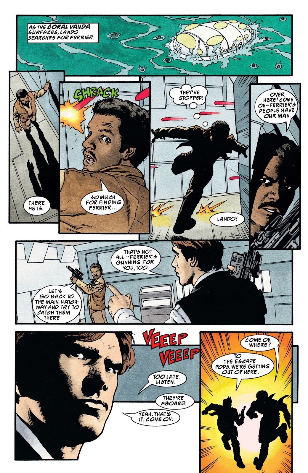 Read online Star Wars Legends: The New Republic - Epic Collection comic -  Issue # TPB 4 (Part 3) - 76