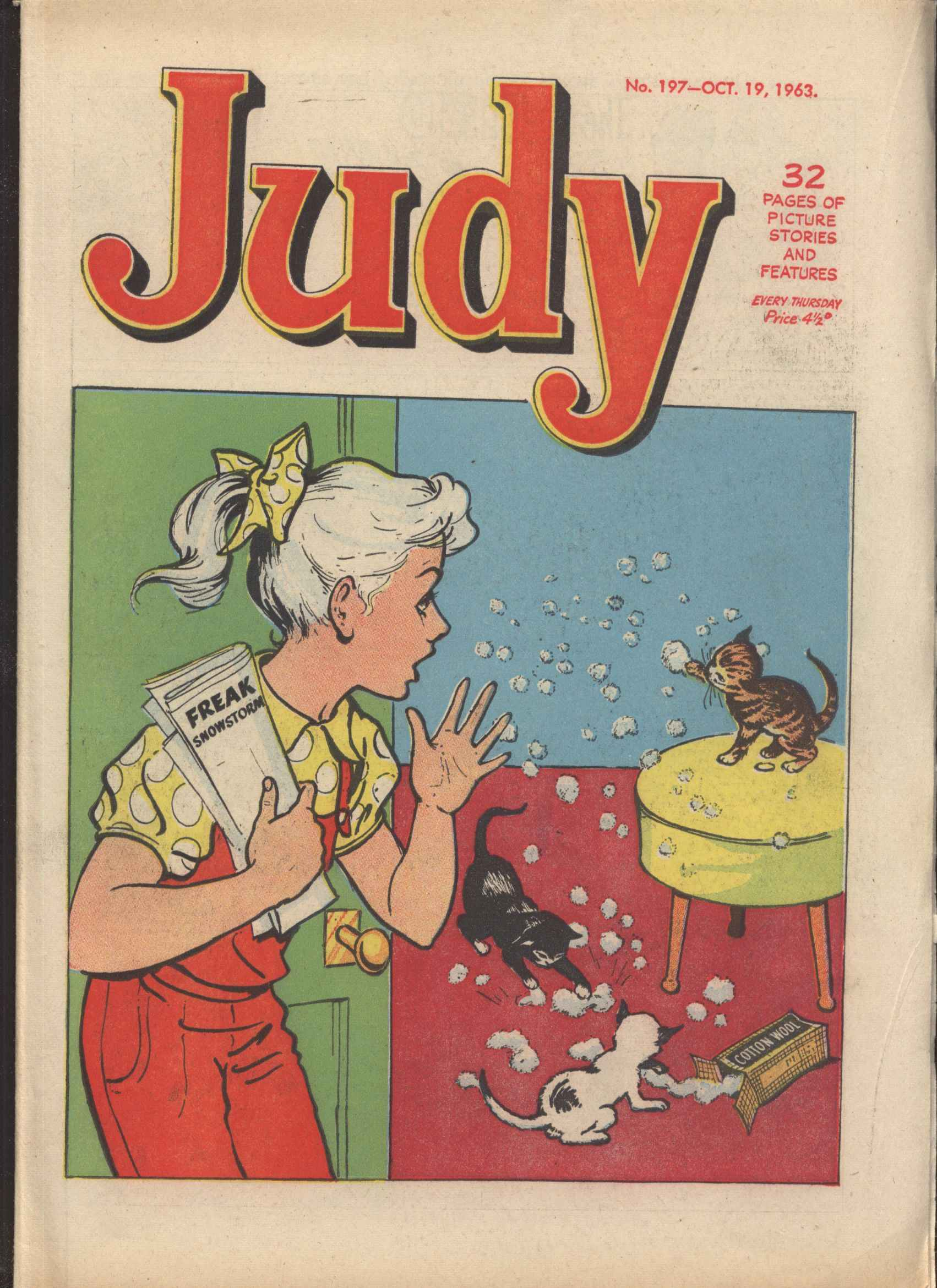 Read online Judy comic -  Issue #197 - 1