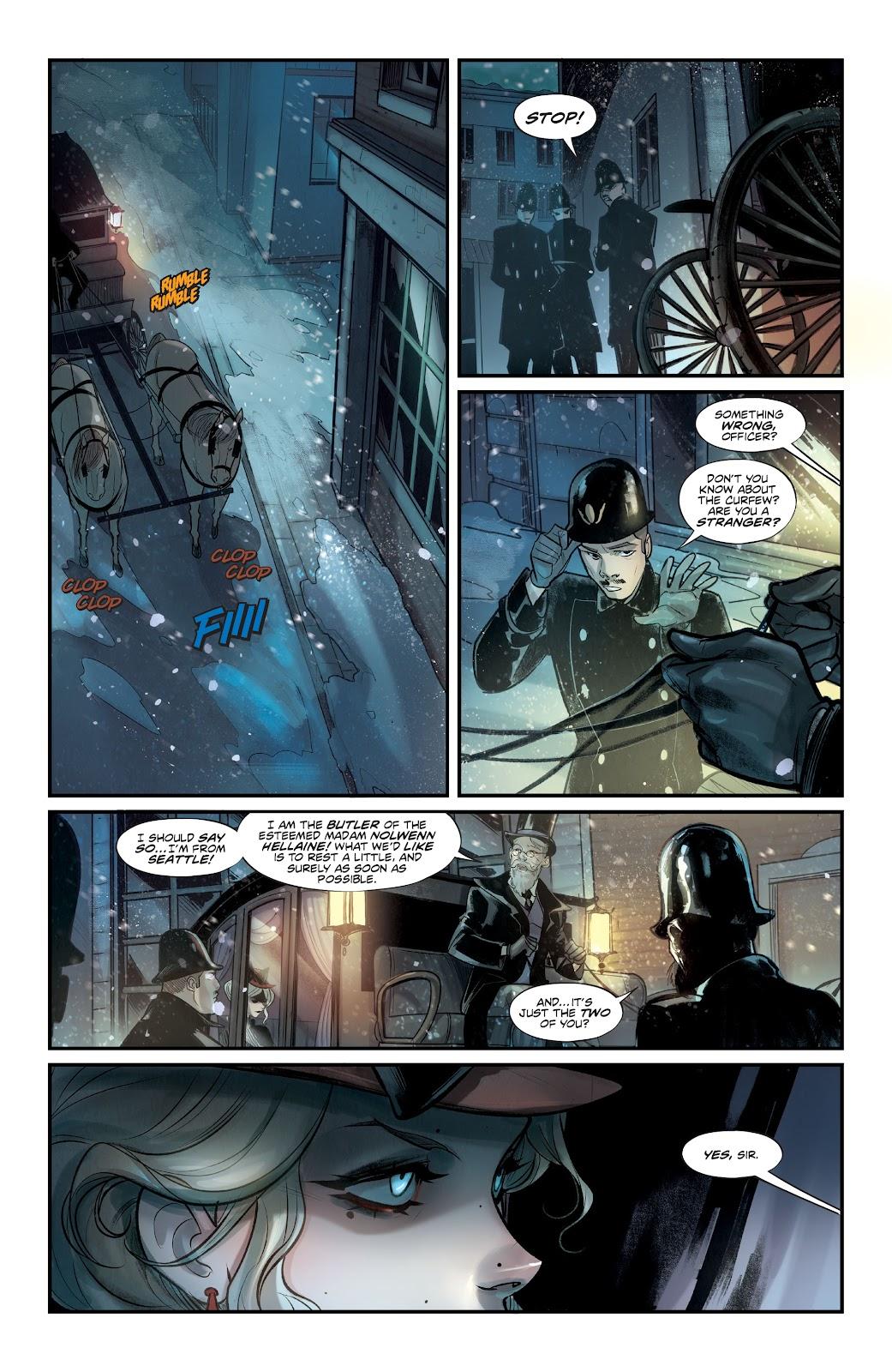 Read online Mirka Andolfo's Mercy comic -  Issue #1 - 25