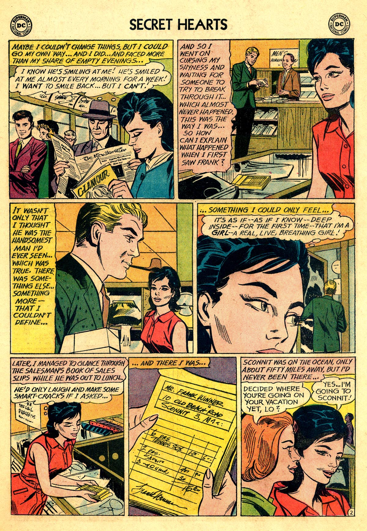 Read online Secret Hearts comic -  Issue #92 - 19