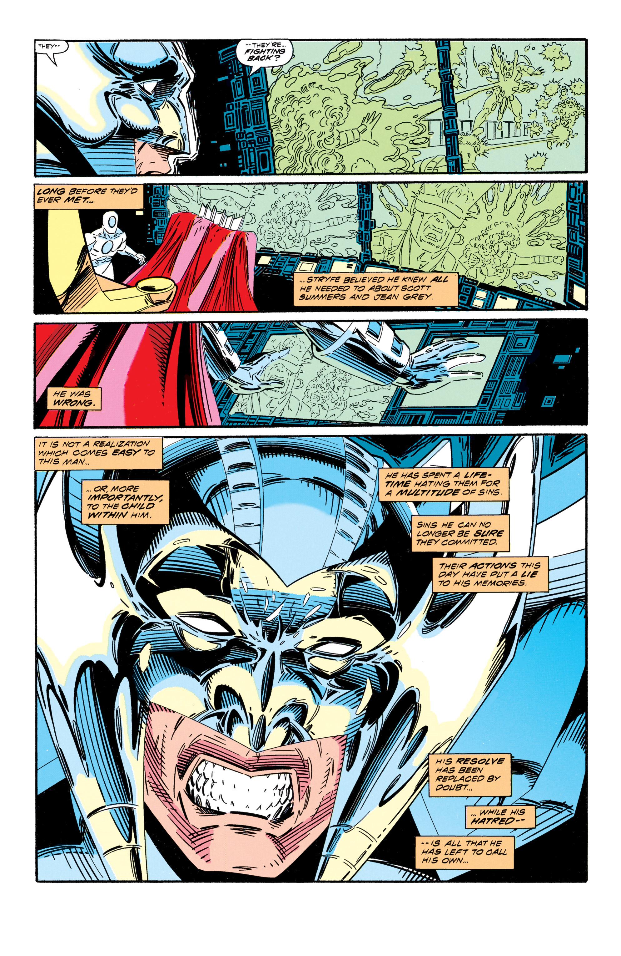 Read online Uncanny X-Men (1963) comic -  Issue #296 - 21