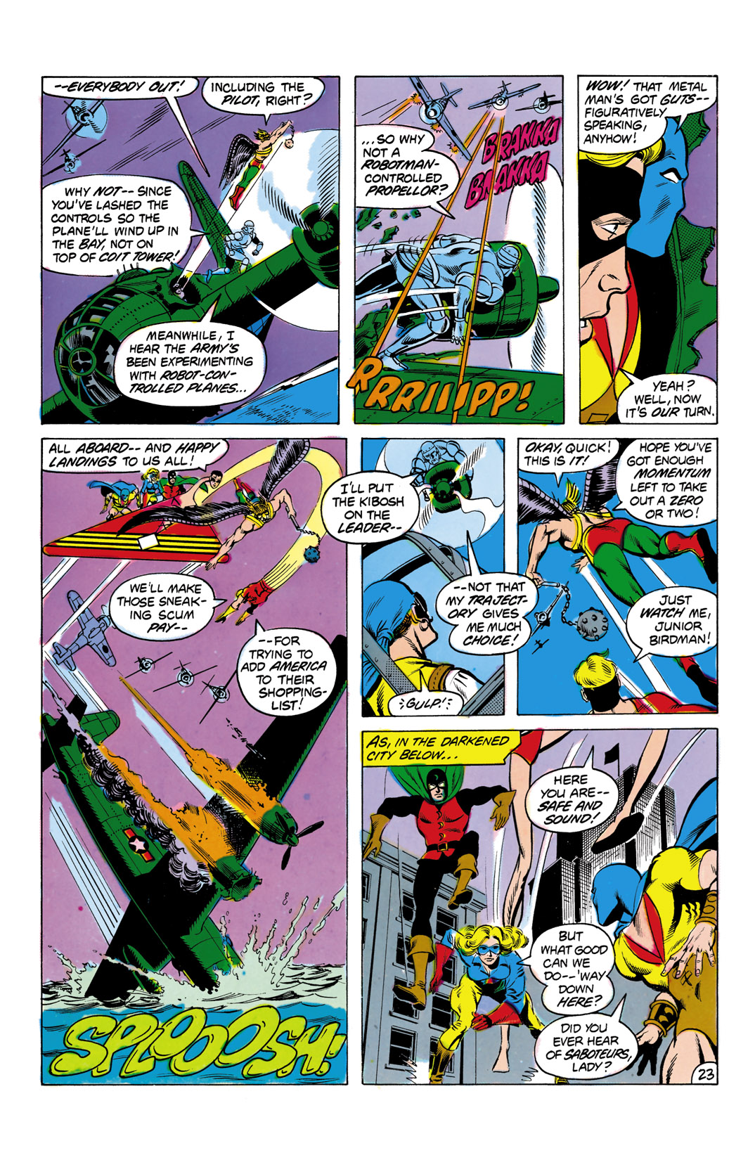 Read online All-Star Squadron comic -  Issue #2 - 24