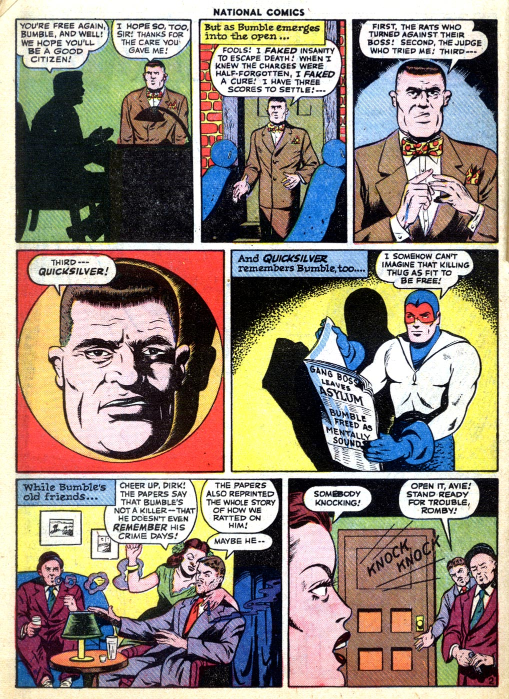 National Comics (1940) issue 47 - Page 38