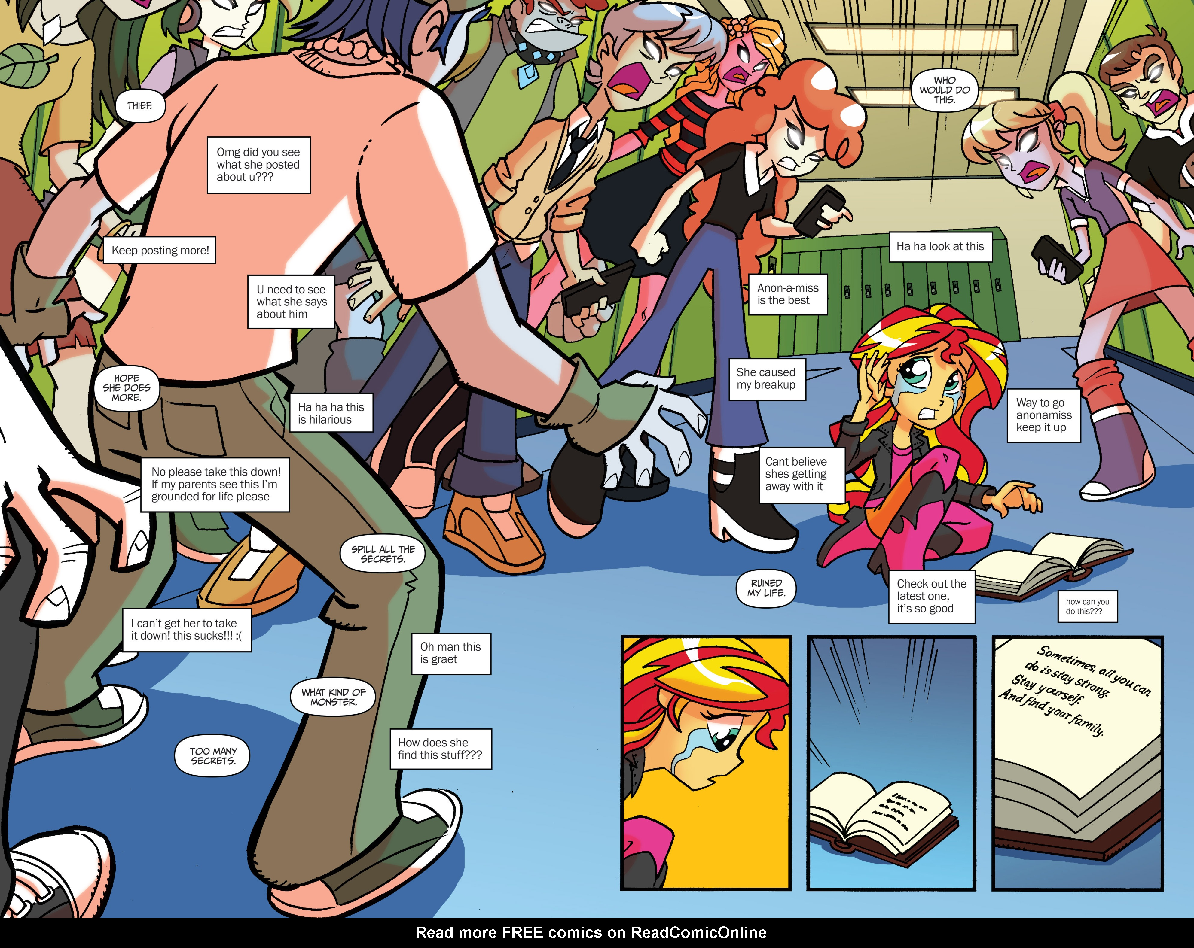 Anon Mlp Comic comic my little pony: equestria girls holiday special 2014