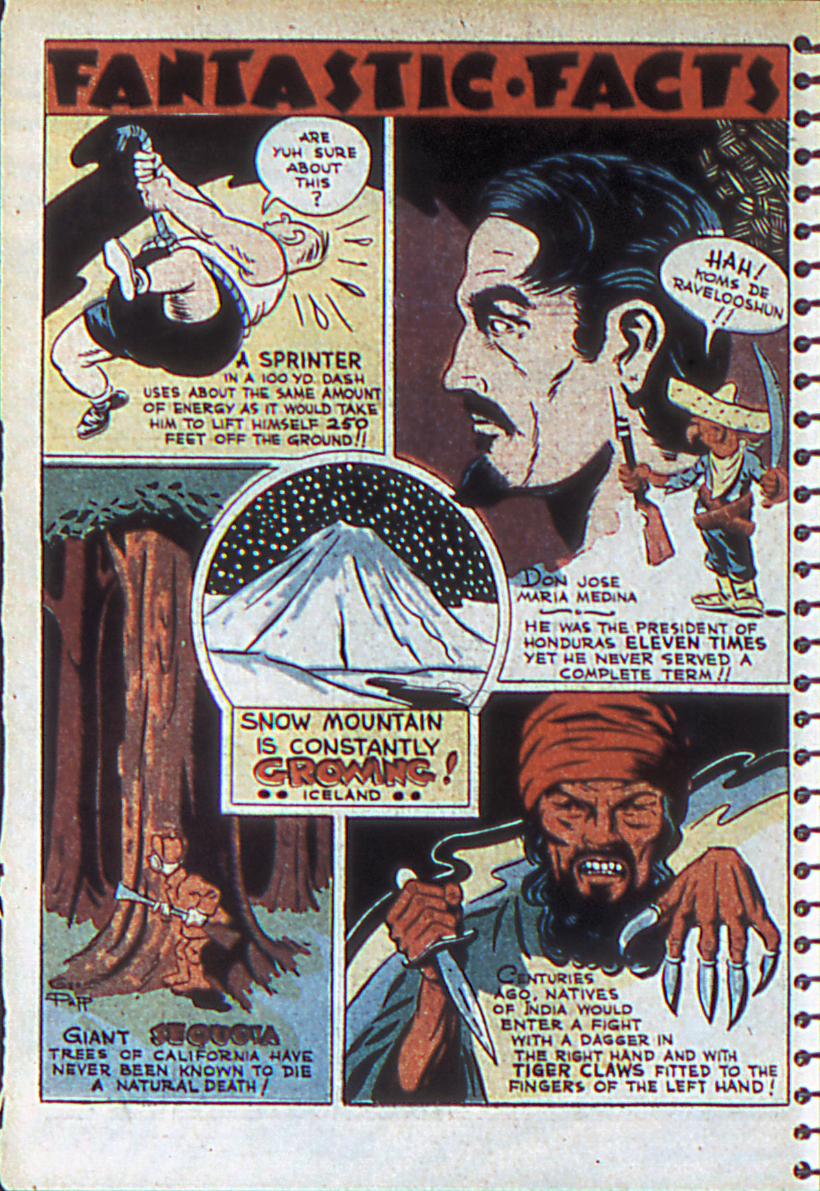Read online Adventure Comics (1938) comic -  Issue #55 - 19