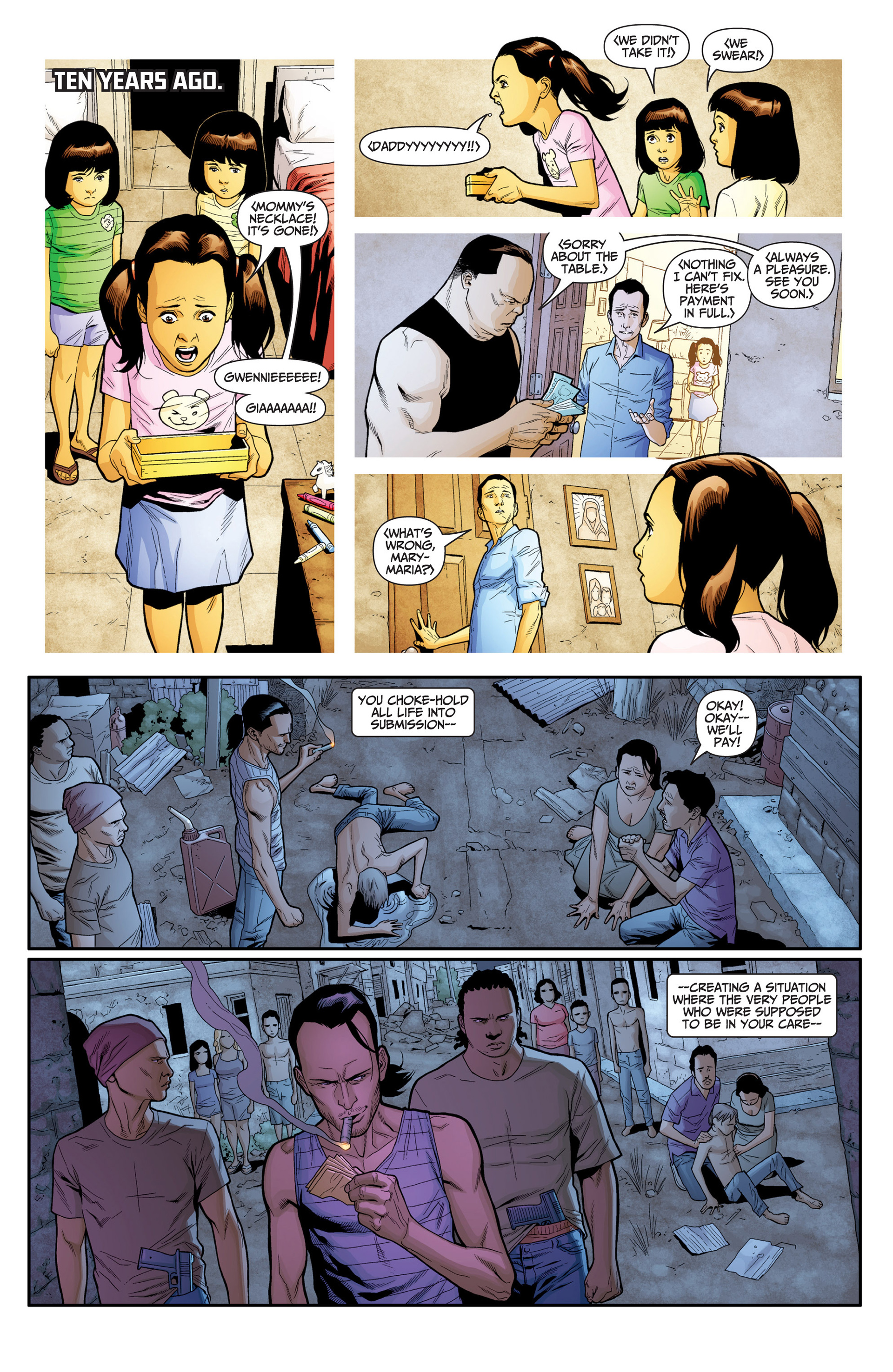 Read online Archer and Armstrong comic -  Issue #24 - 11