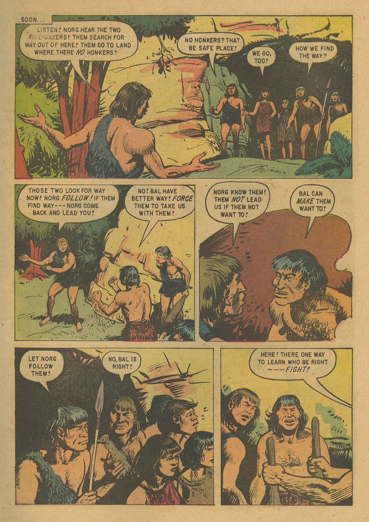 Read online Turok, Son of Stone comic -  Issue #19 - 5