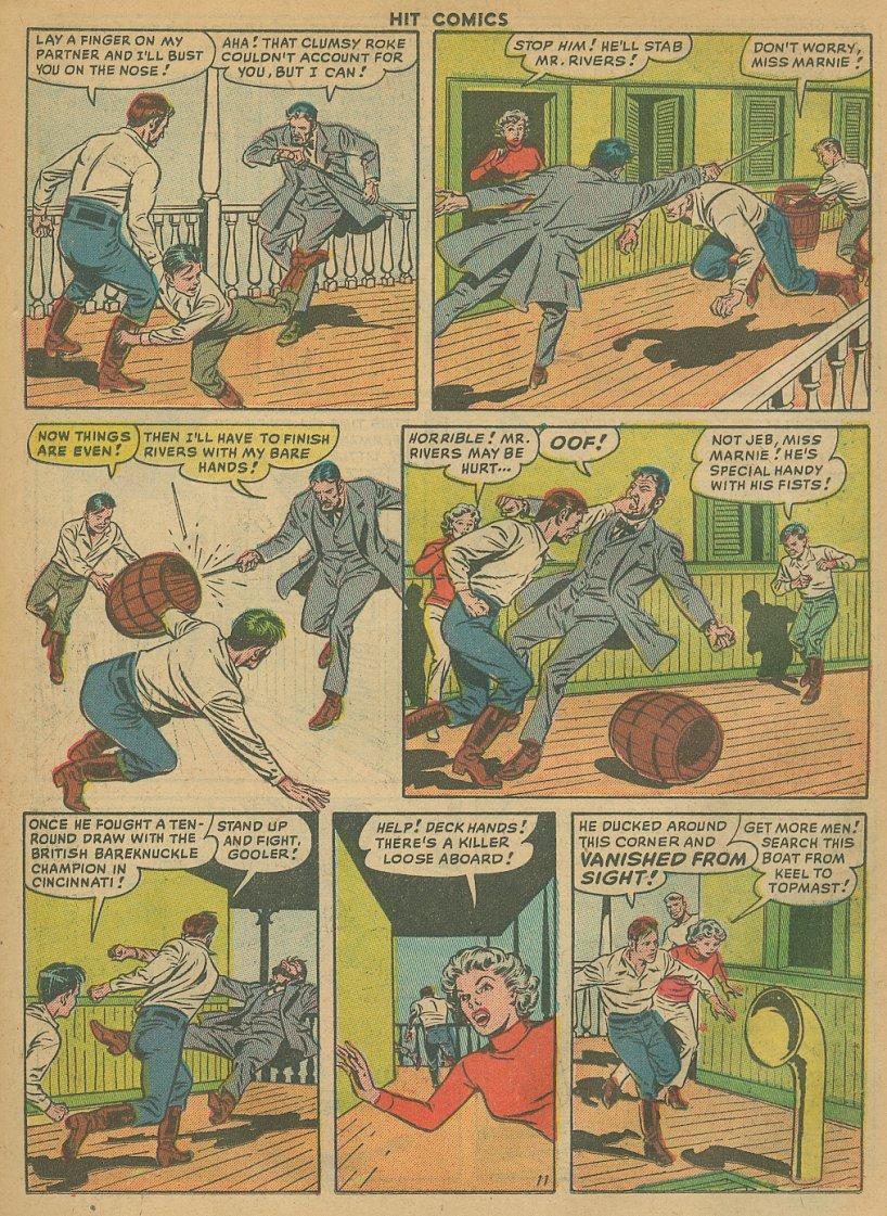Read online Hit Comics comic -  Issue #61 - 13