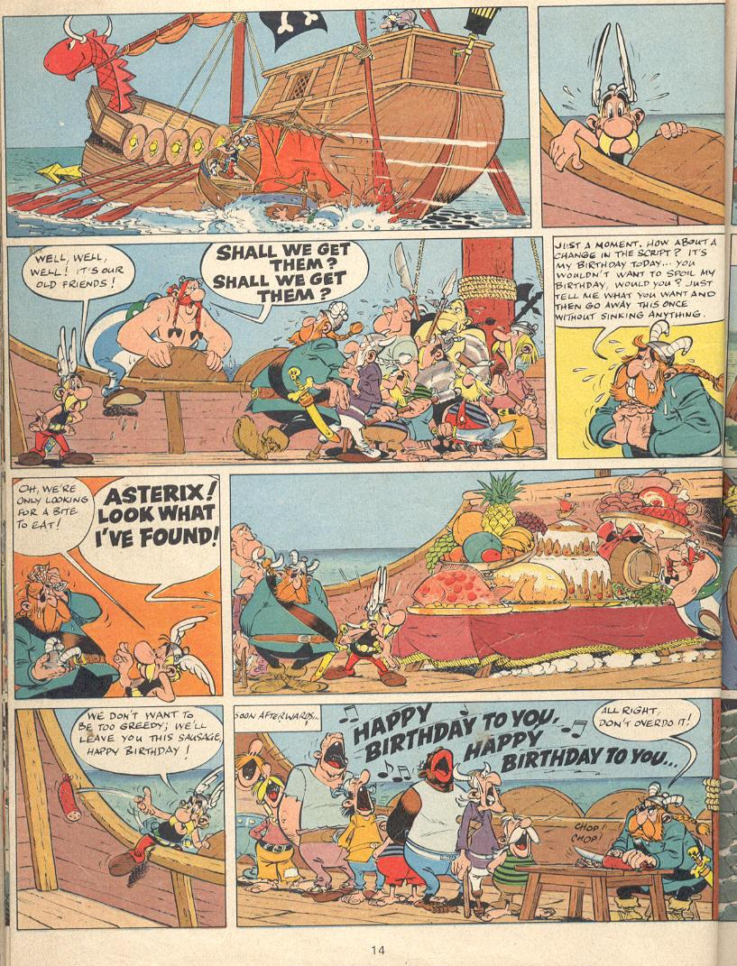 Read online Asterix comic -  Issue #22 - 11