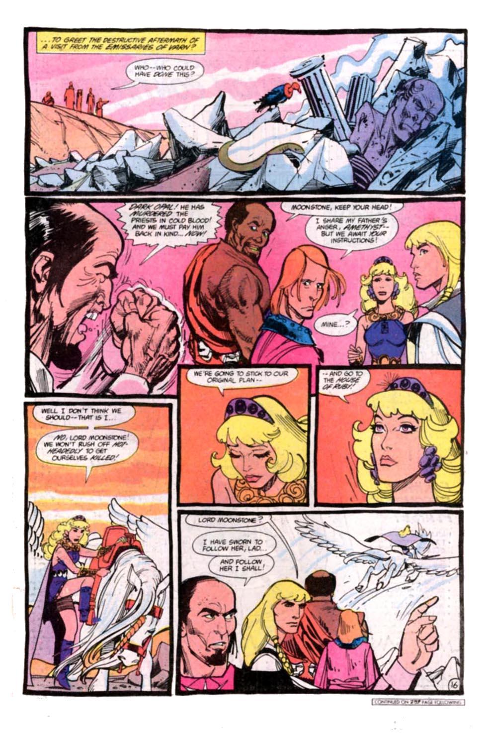 Read online Amethyst, Princess of Gemworld comic -  Issue #8 - 17