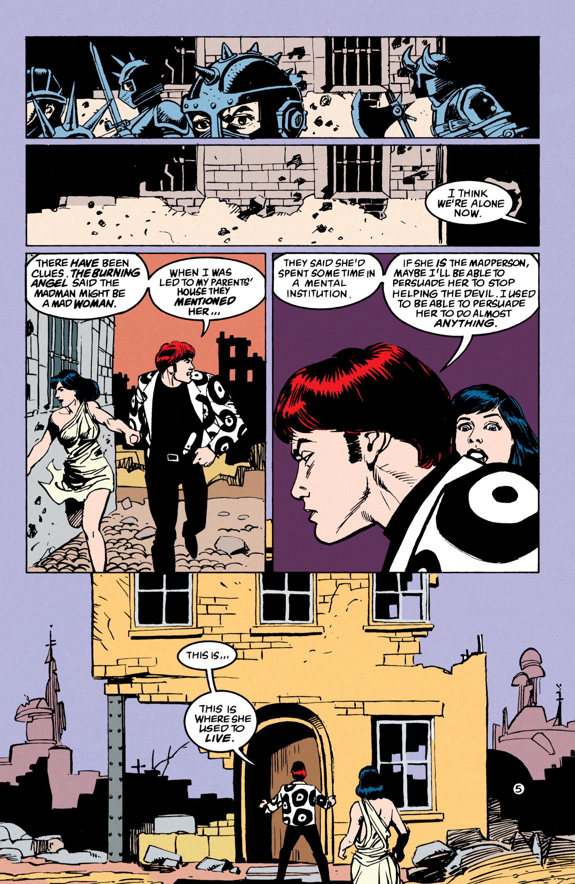 Read online Shade, the Changing Man comic -  Issue #53 - 6