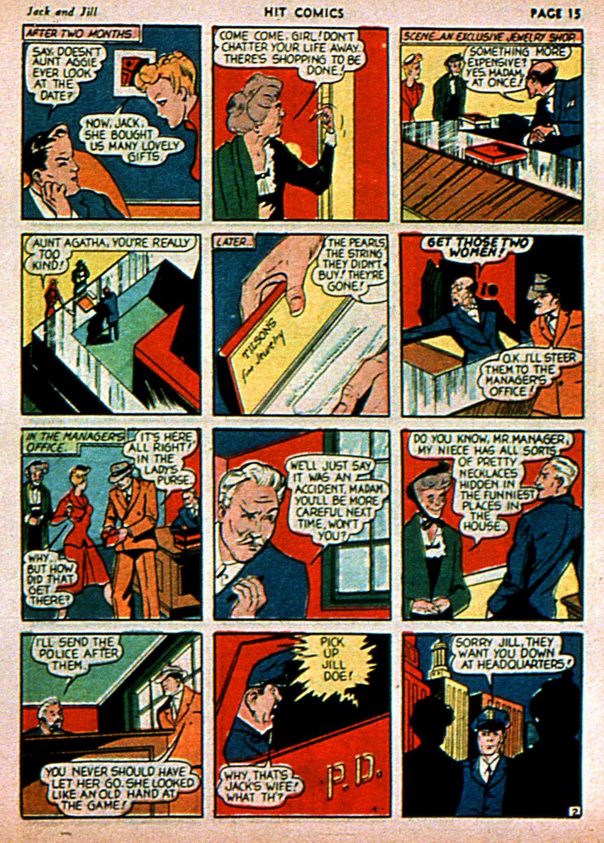 Read online Hit Comics comic -  Issue #3 - 17