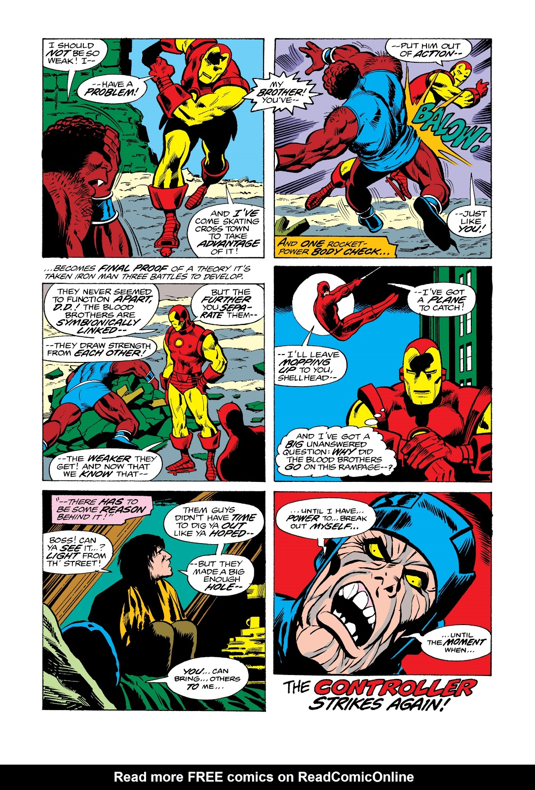 Read online Marvel Masterworks: The Invincible Iron Man comic -  Issue # TPB 11 (Part 2) - 92