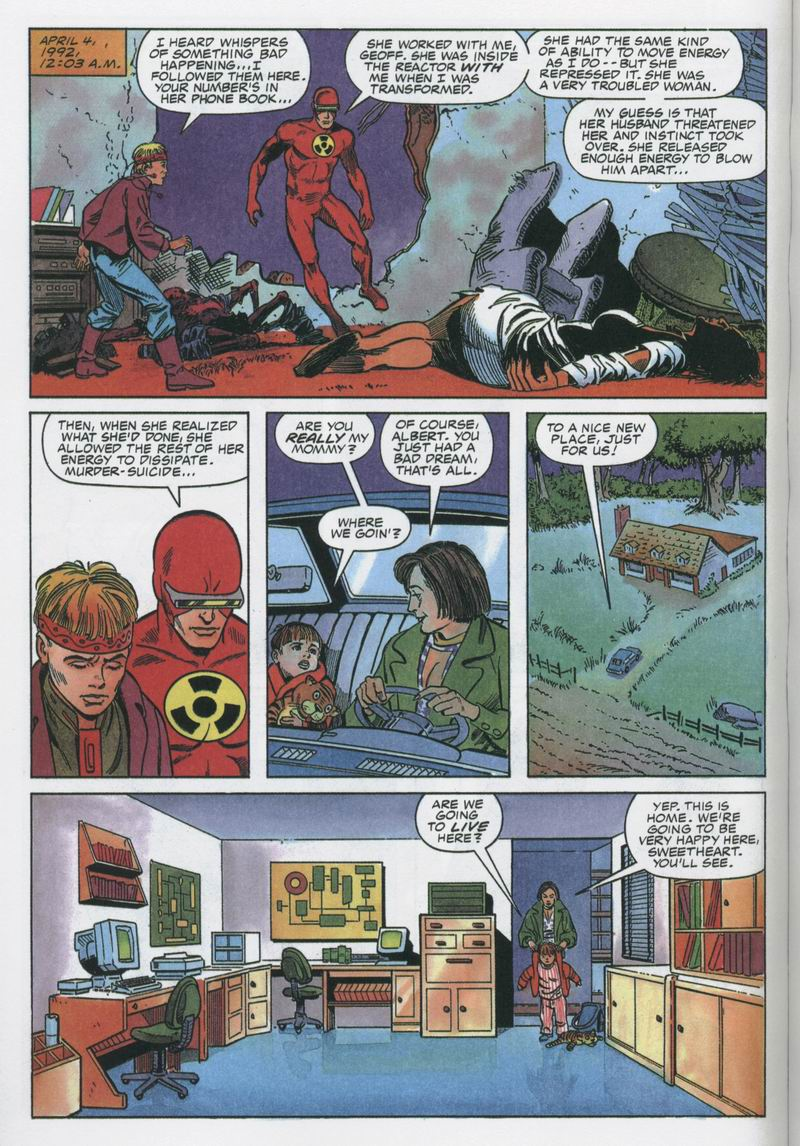 Read online Solar, Man of the Atom comic -  Issue #12 - 5