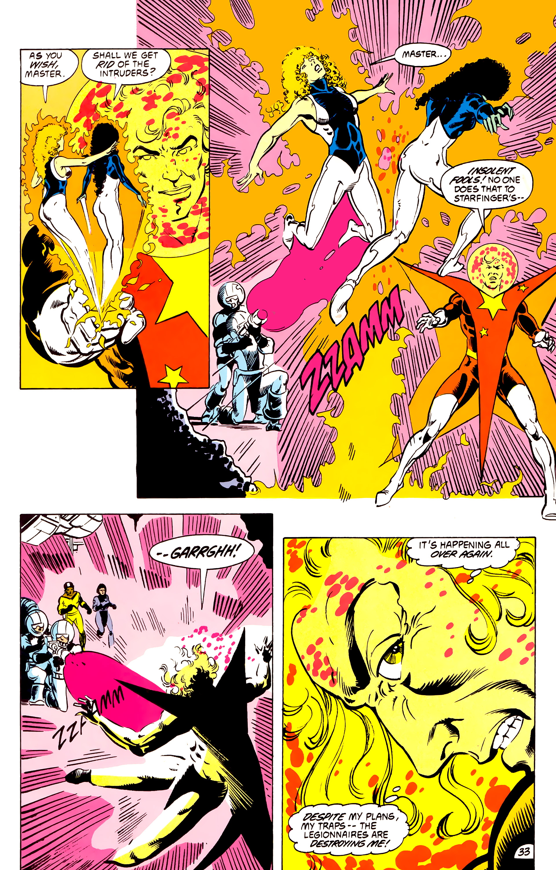 Legion of Super-Heroes (1984) _Annual_4 Page 33